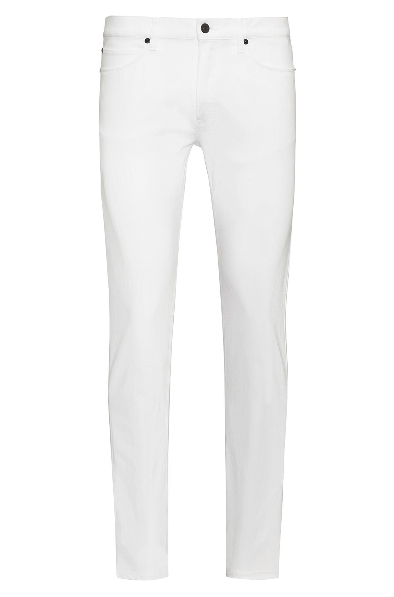 Jean Skinny Fit en denim stretch blanc