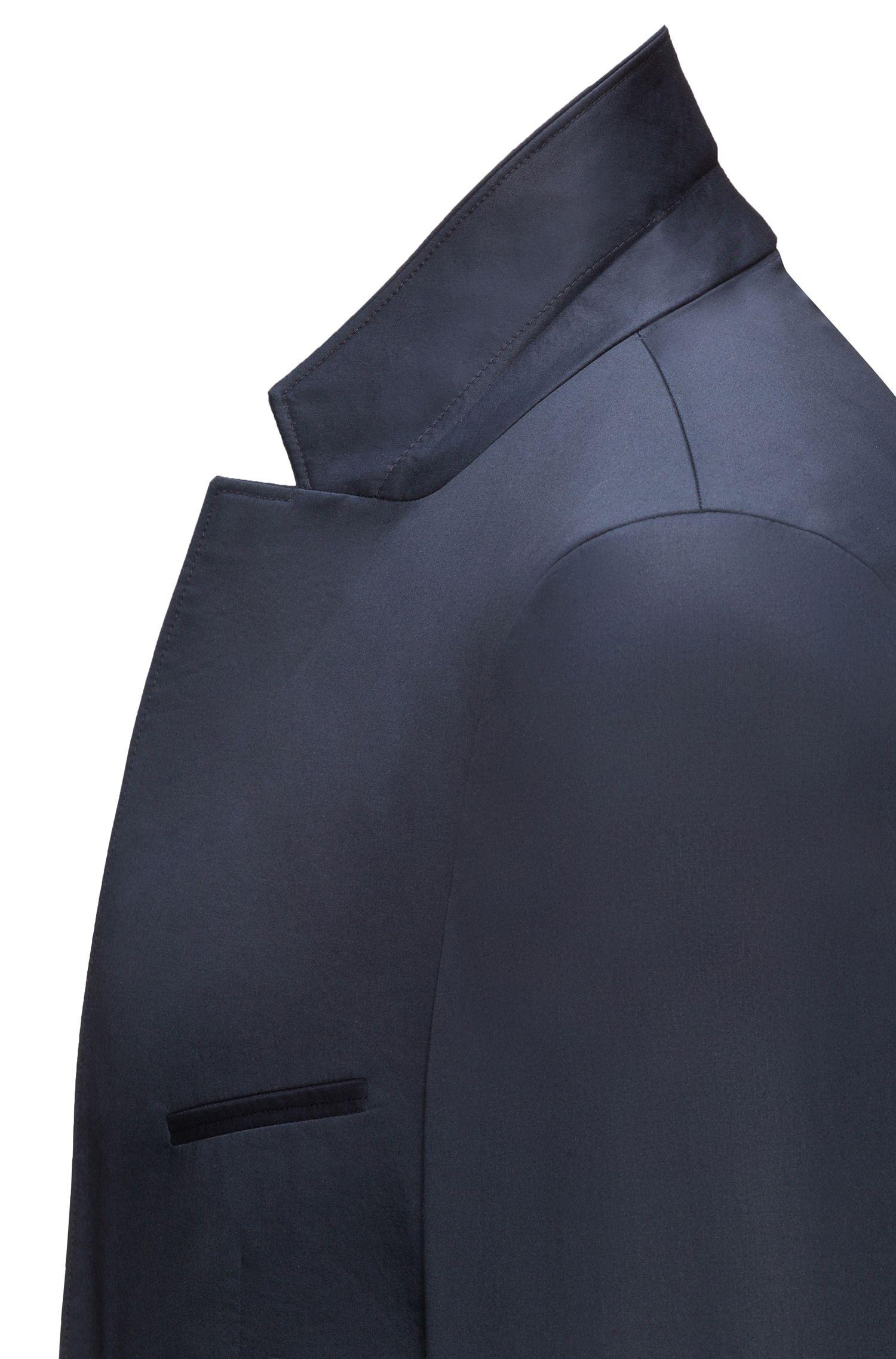 Extra Slim-Fit Sakko aus Stretch-Baumwolle ohne Innenfutter