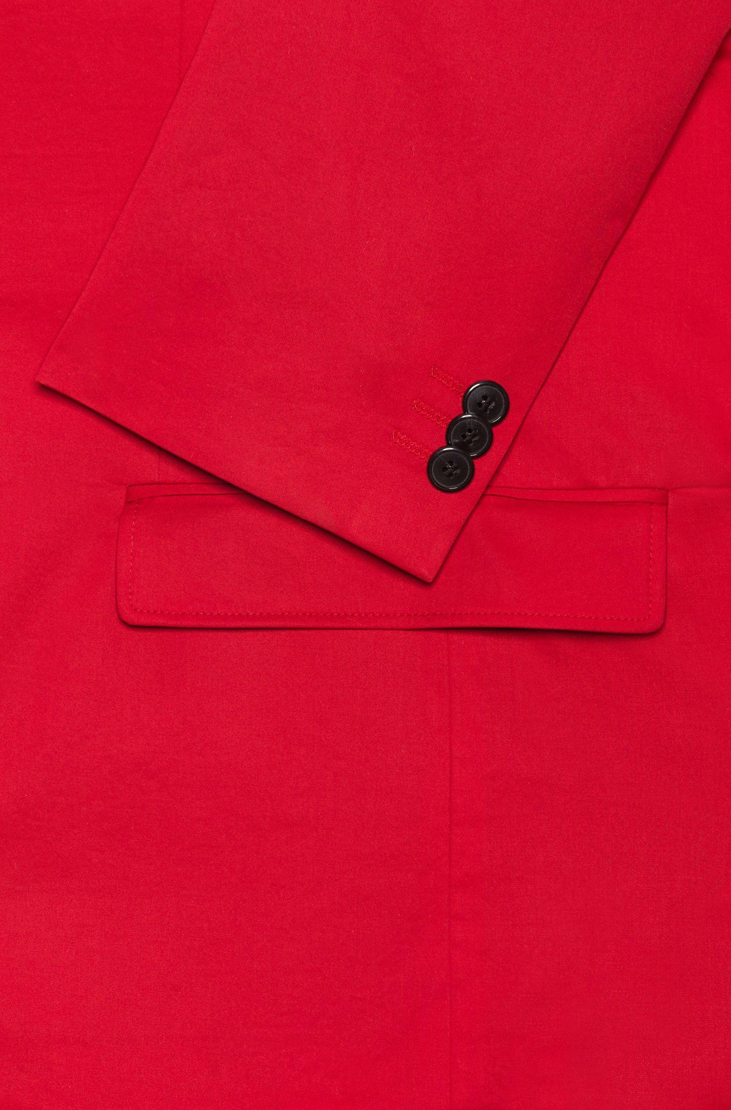 Veste Extra Slim Fit non doublée en coton stretch