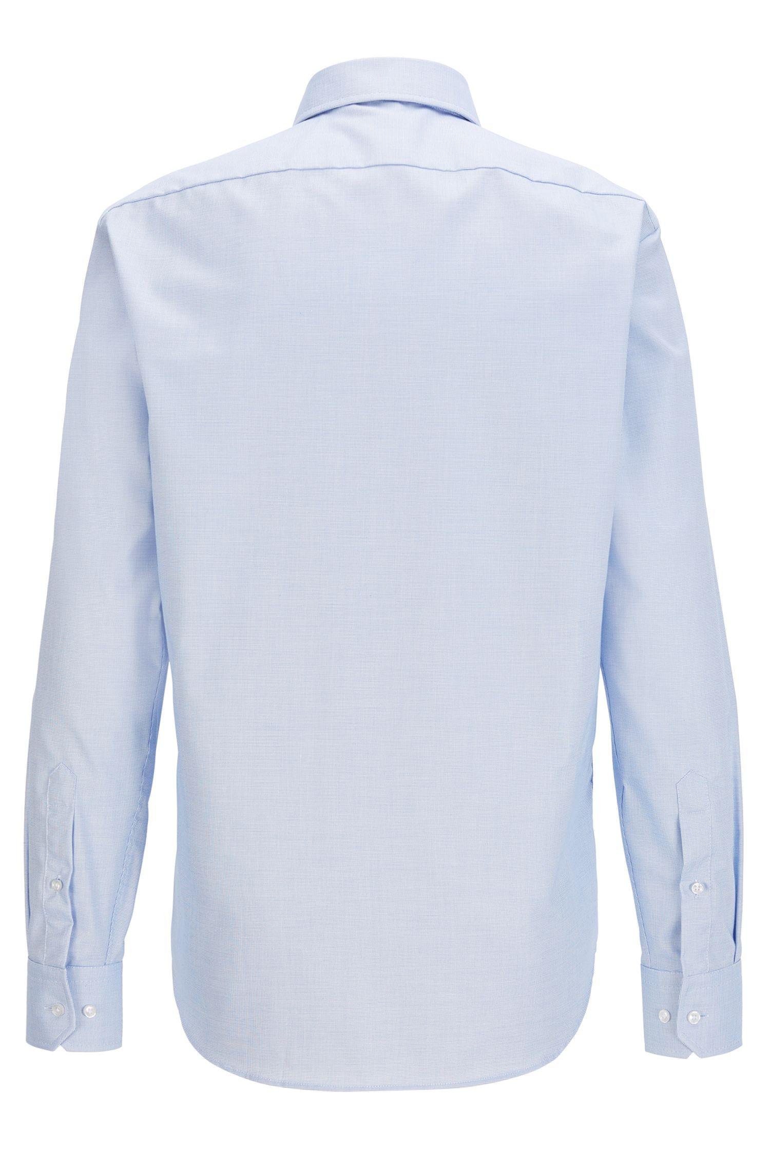 Overhemd van Fresh Active-katoen met lange mouwen