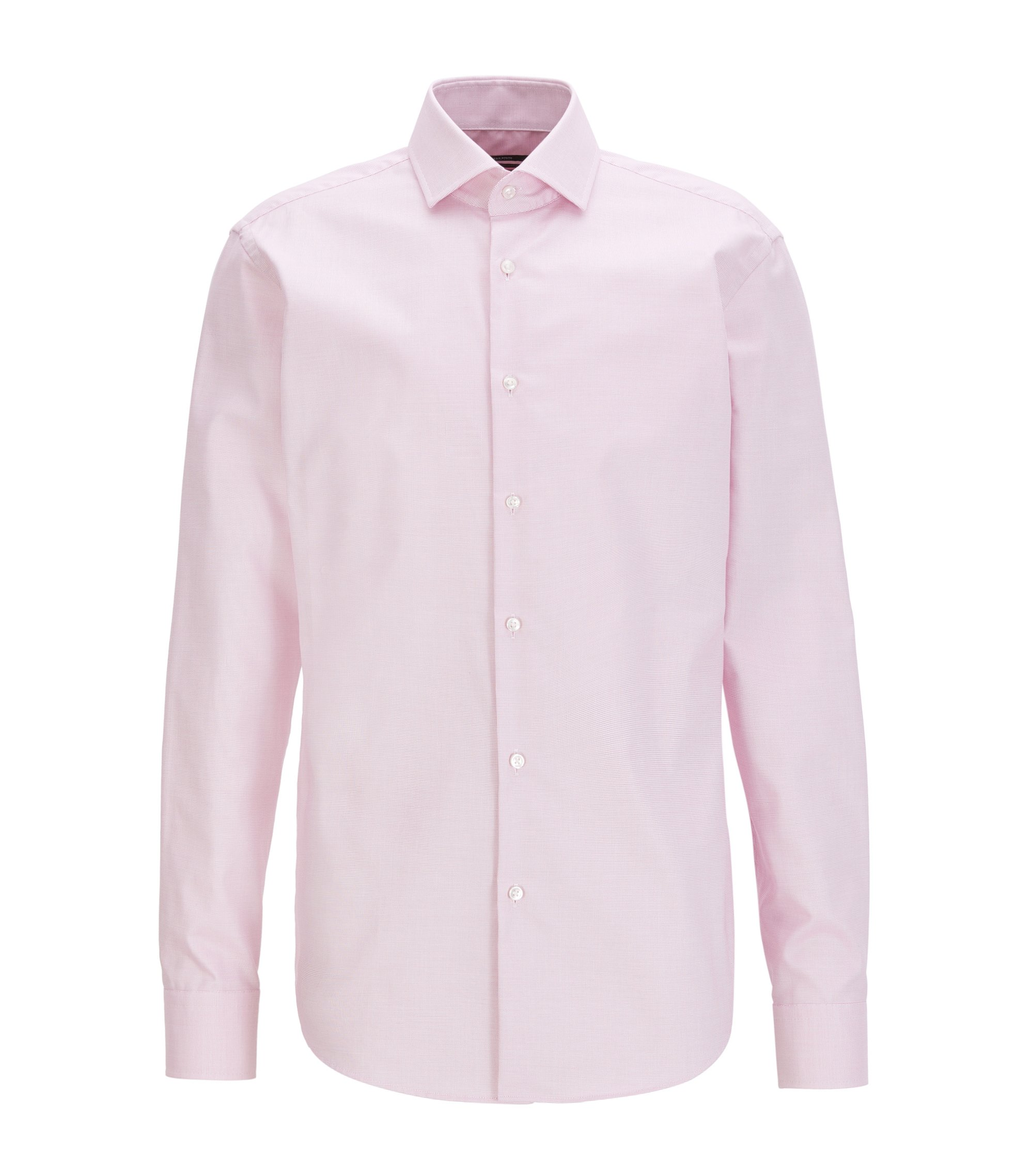Long-sleeved shirt in Fresh Active cotton, Pink