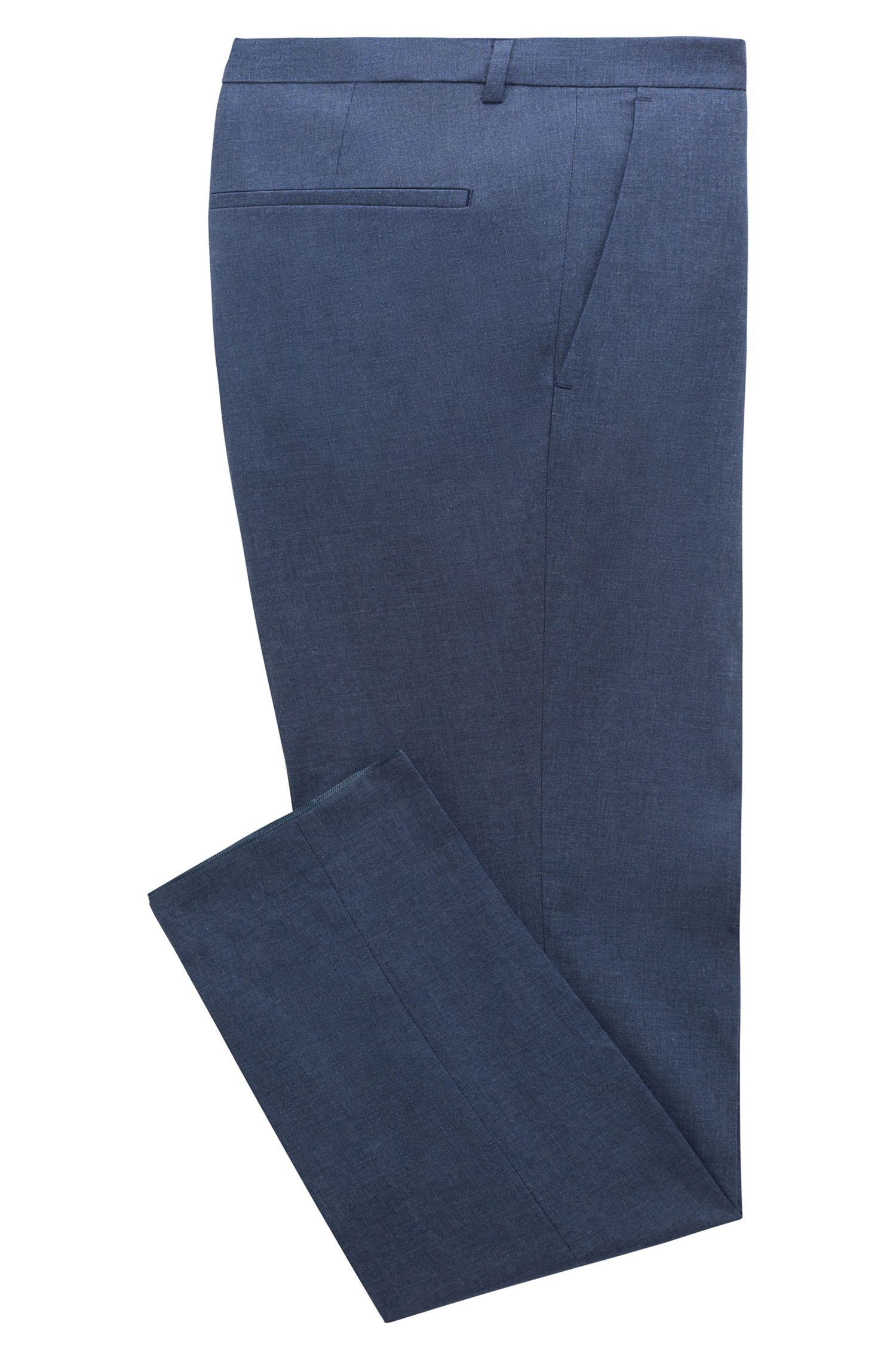 Pantalon Extra Slim Fit en coton stretch chiné