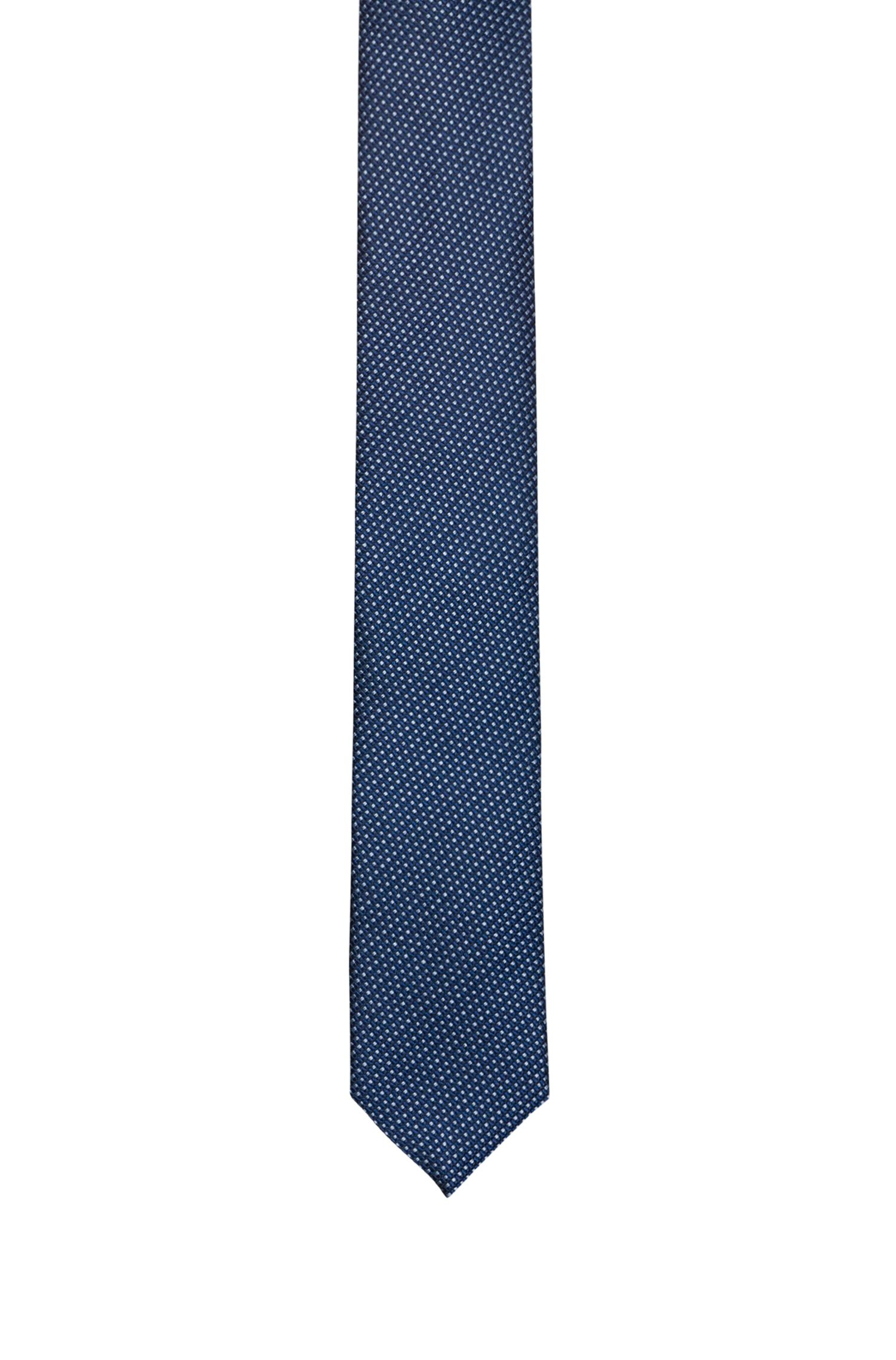 Moderne Krawatte aus gemustertem Seiden-Jacquard