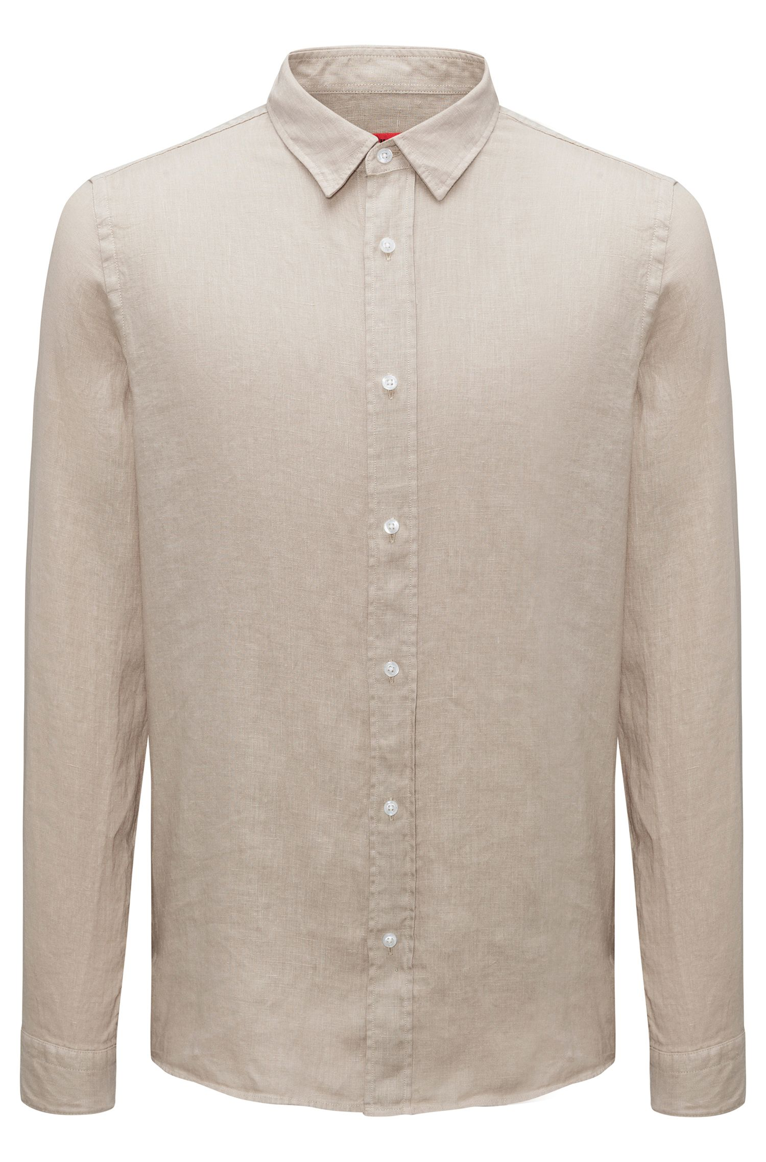 Linen shirt in a relaxed fit