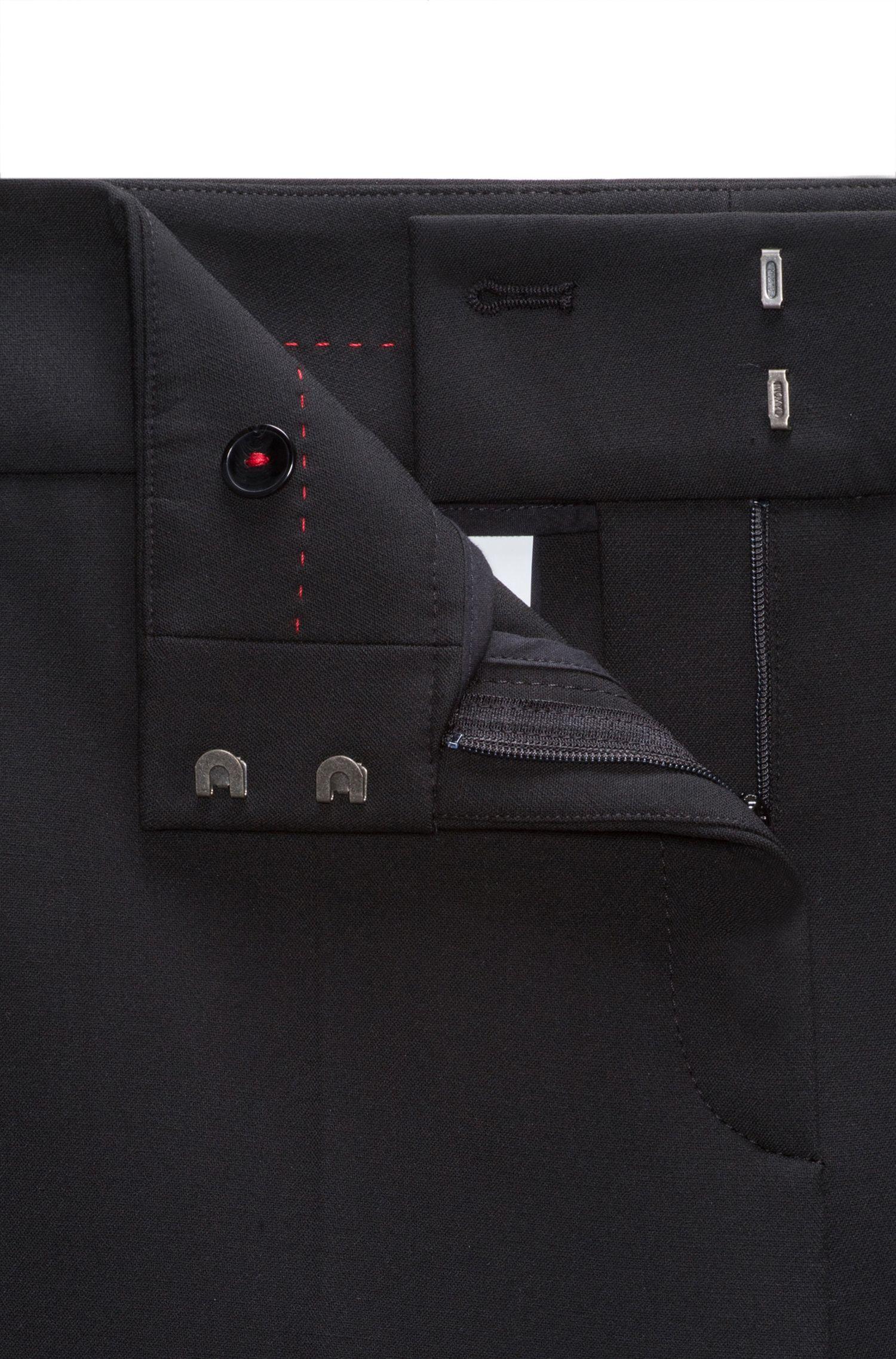 Pantalon Relaxed Fit avec boutons-pression sur les coutures latérales