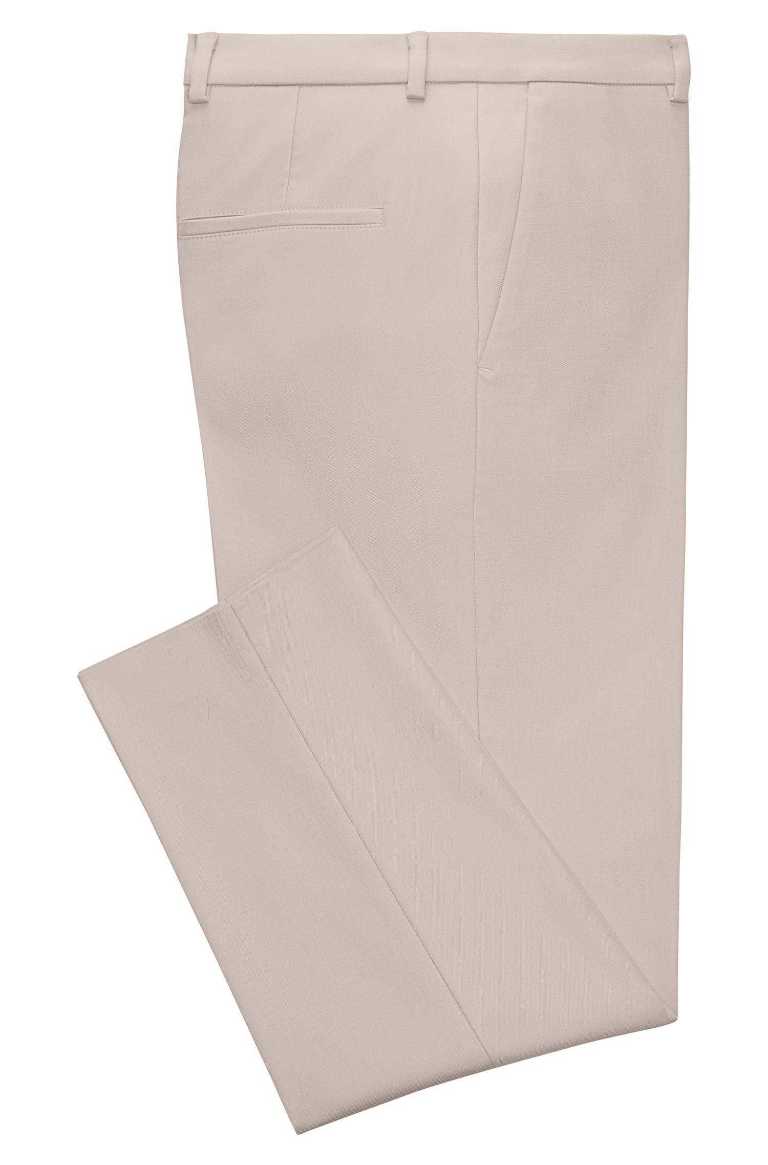 Boyfriend-Fit Chino aus Stretch-Baumwolle