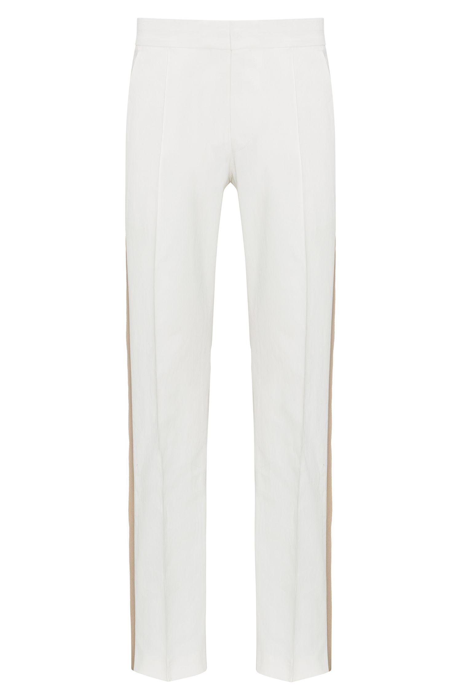 Pantalon Oversized Fit en pur lin