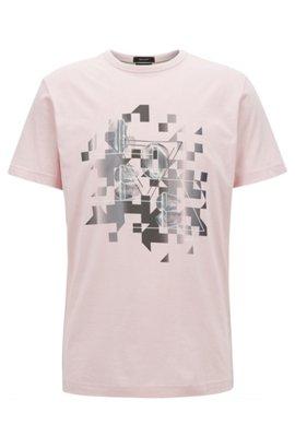 Pas Cher Choisissez Un Meilleur T-shirt à imprimé graphique mélangé en coton lavé49.95BOSS 100% En Ligne Vente Originale Livraison Gratuite Prix Le Moins Cher Hin5PgotdR