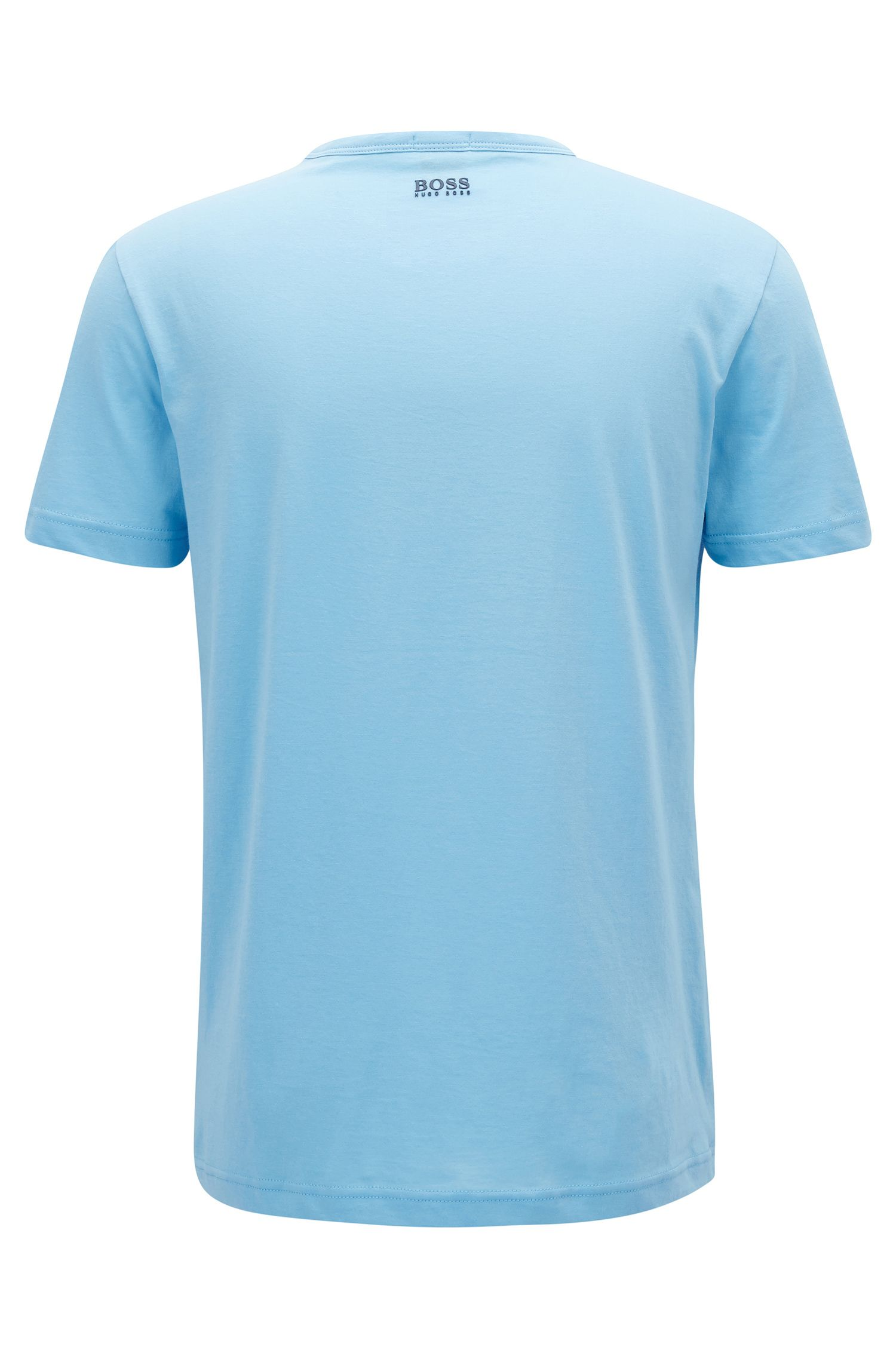 3D-logo T-shirt in soft cotton