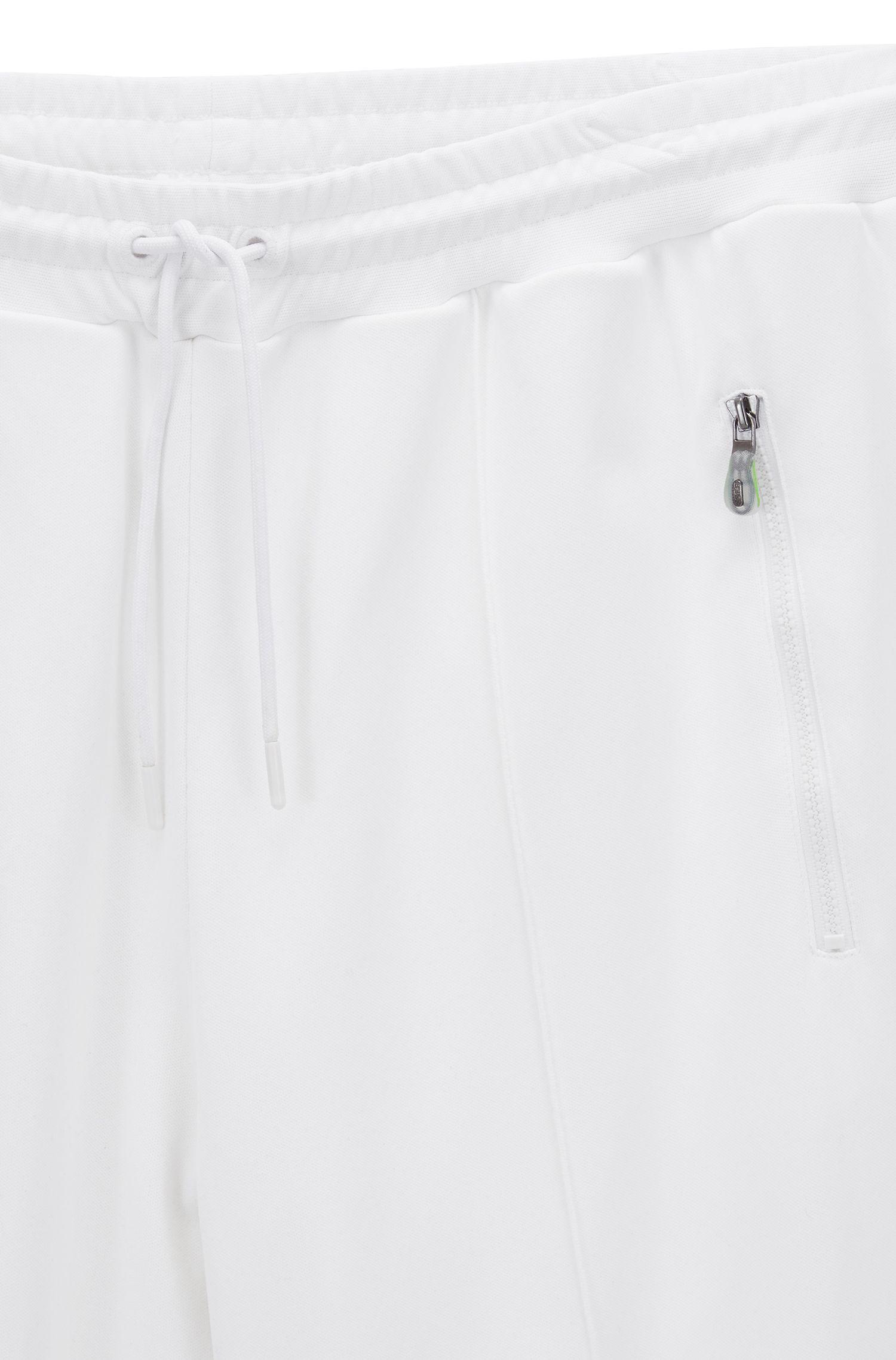 Pantalon de jogging à jambes droites en piqué interlock