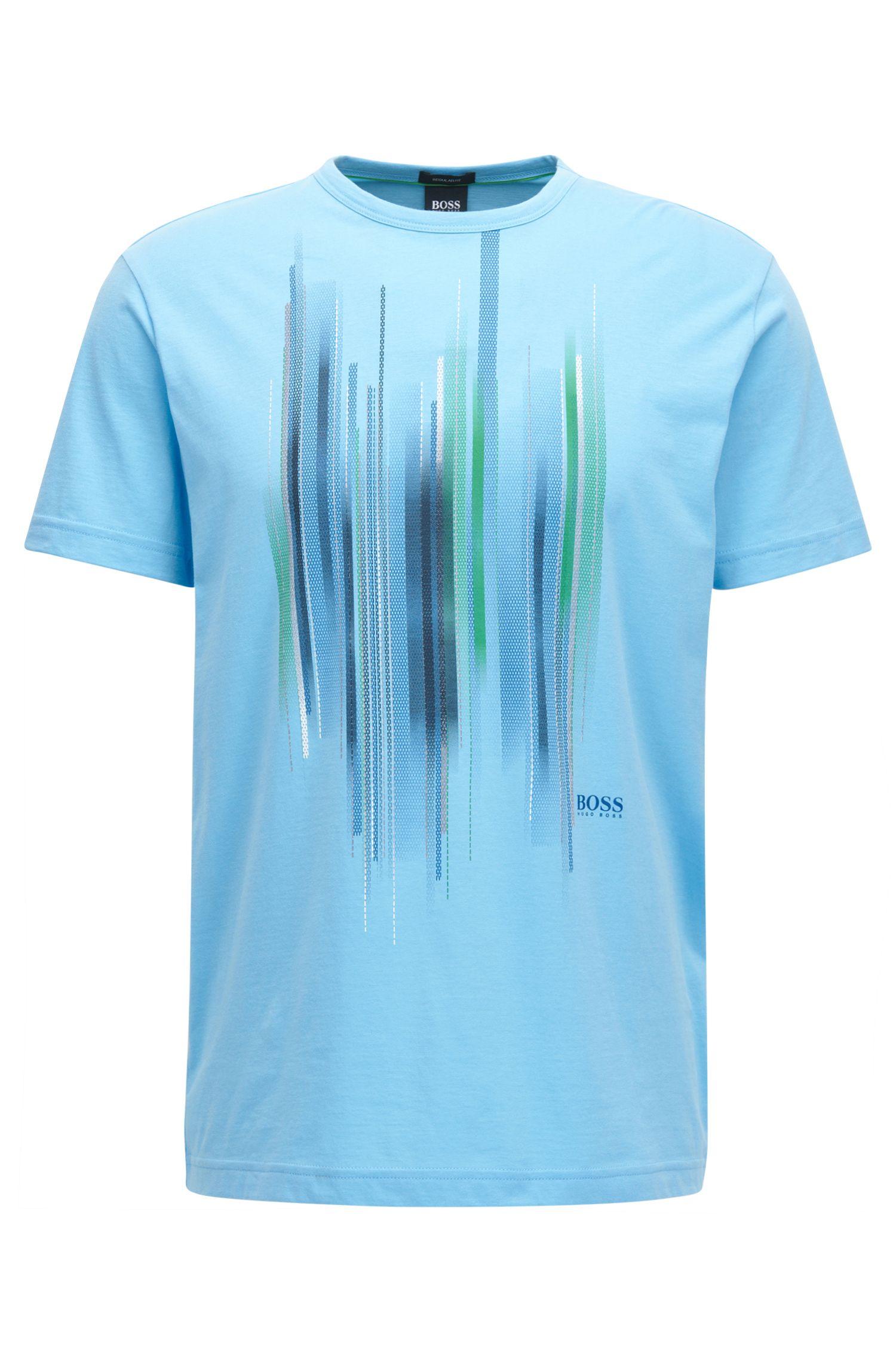 T-shirt en coton à imprimé graphique