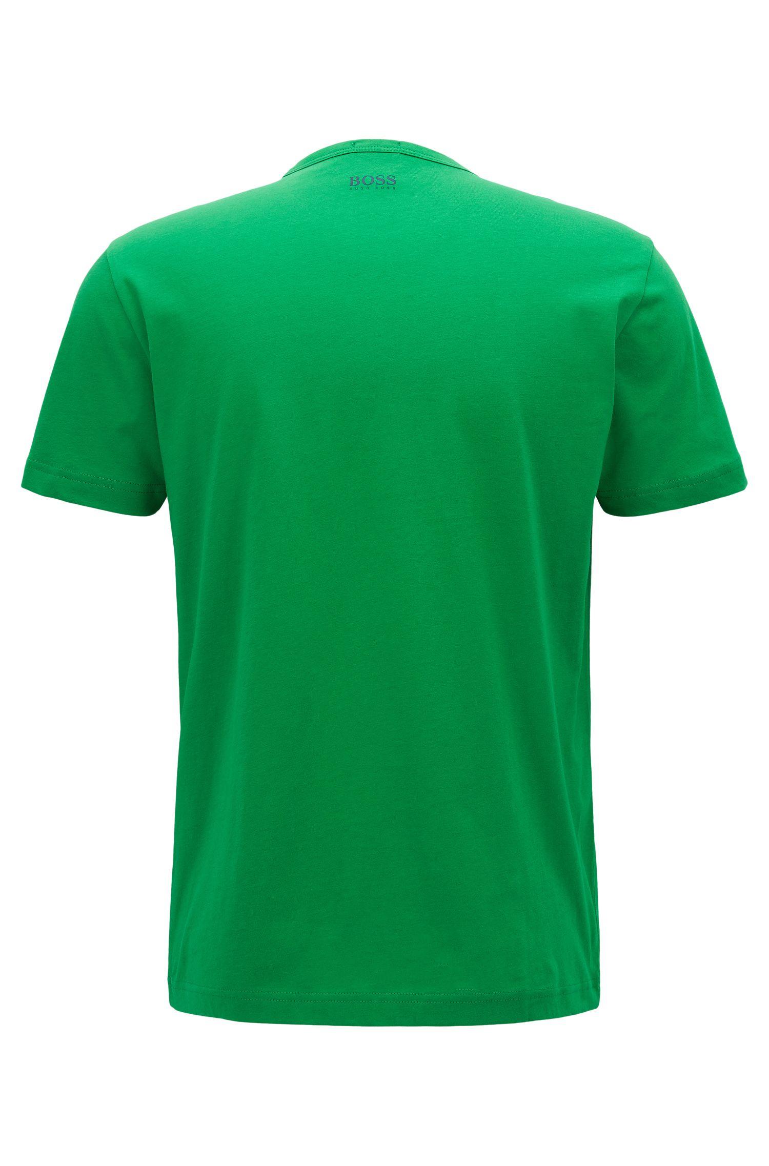 T-Shirt aus Baumwoll-Jersey mit Rundhalsausschnitt