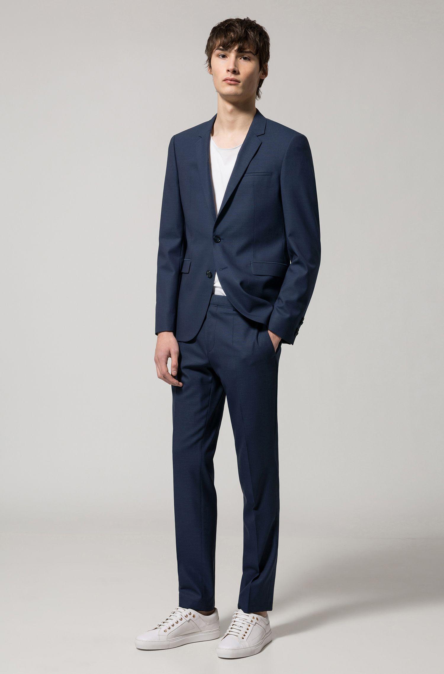 Extra Slim-Fit Anzug aus italienischer Schurwolle