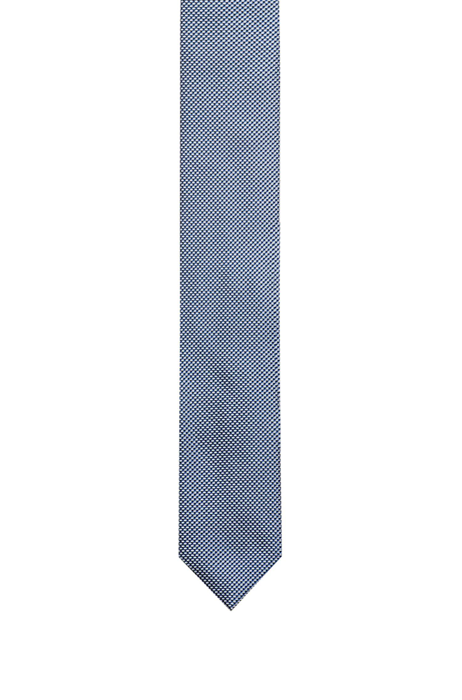7cm brede stropdas van jacquardgeweven zijde