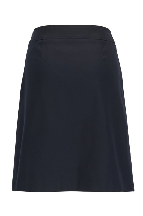 On Hot Sale 100% Guaranteed Online A-line sailor skirt in a stretch cotton blend BOSS Free Shipping Supply 4iCYcnc