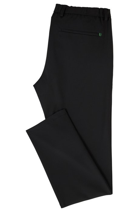 Slim-fit water-repellent trousers in four-way stretch fabric BOSS utkJhYh