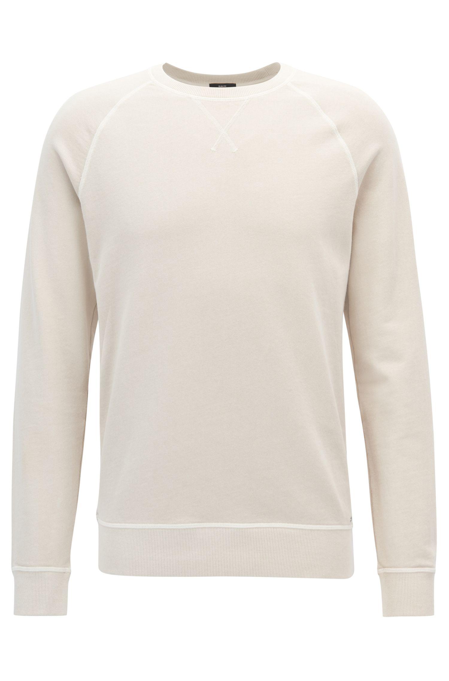 Sweatshirt aus Single Jersey mit Rundhalsausschnitt