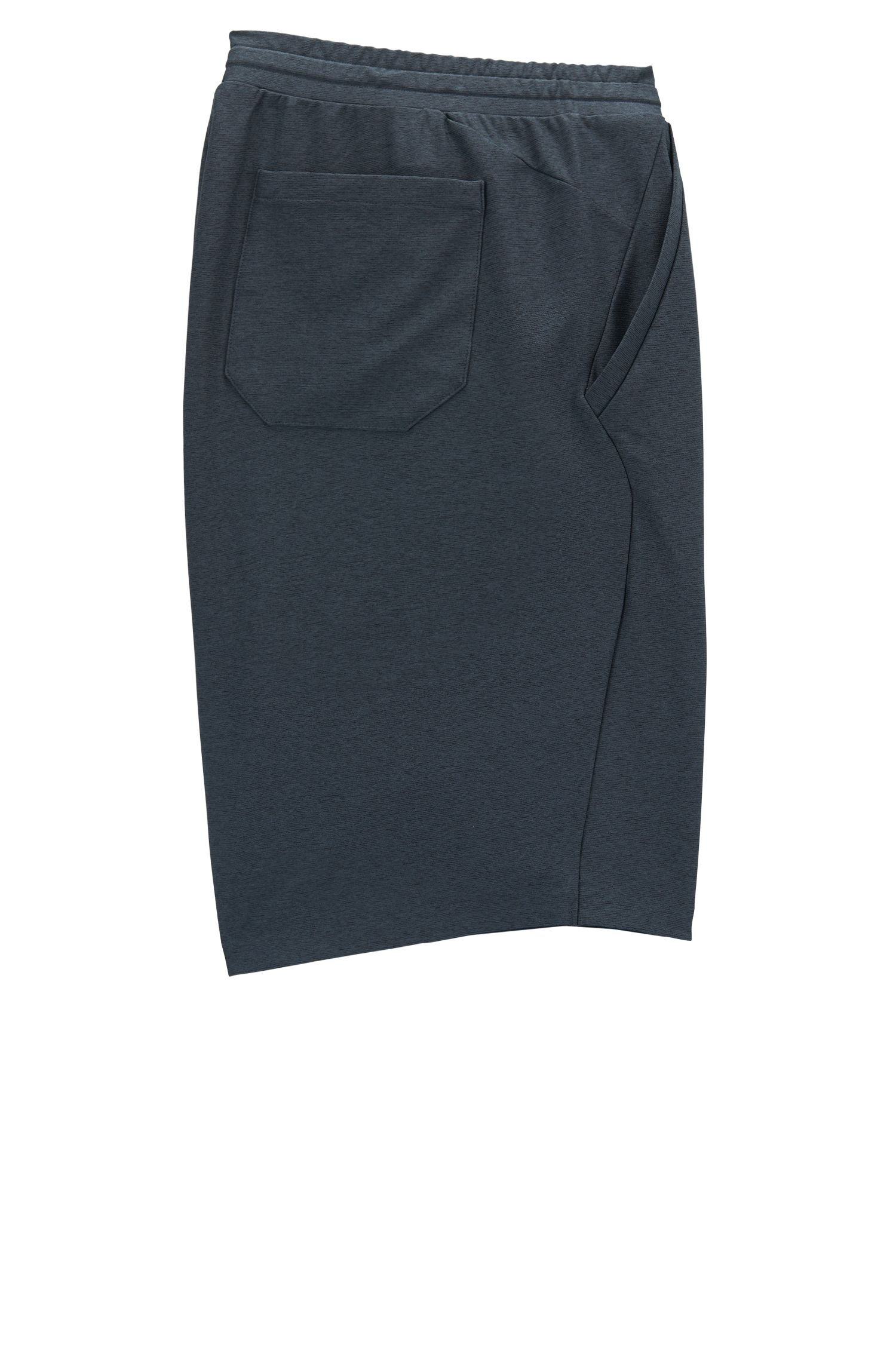 Shorts in mélange jersey with S.Café®