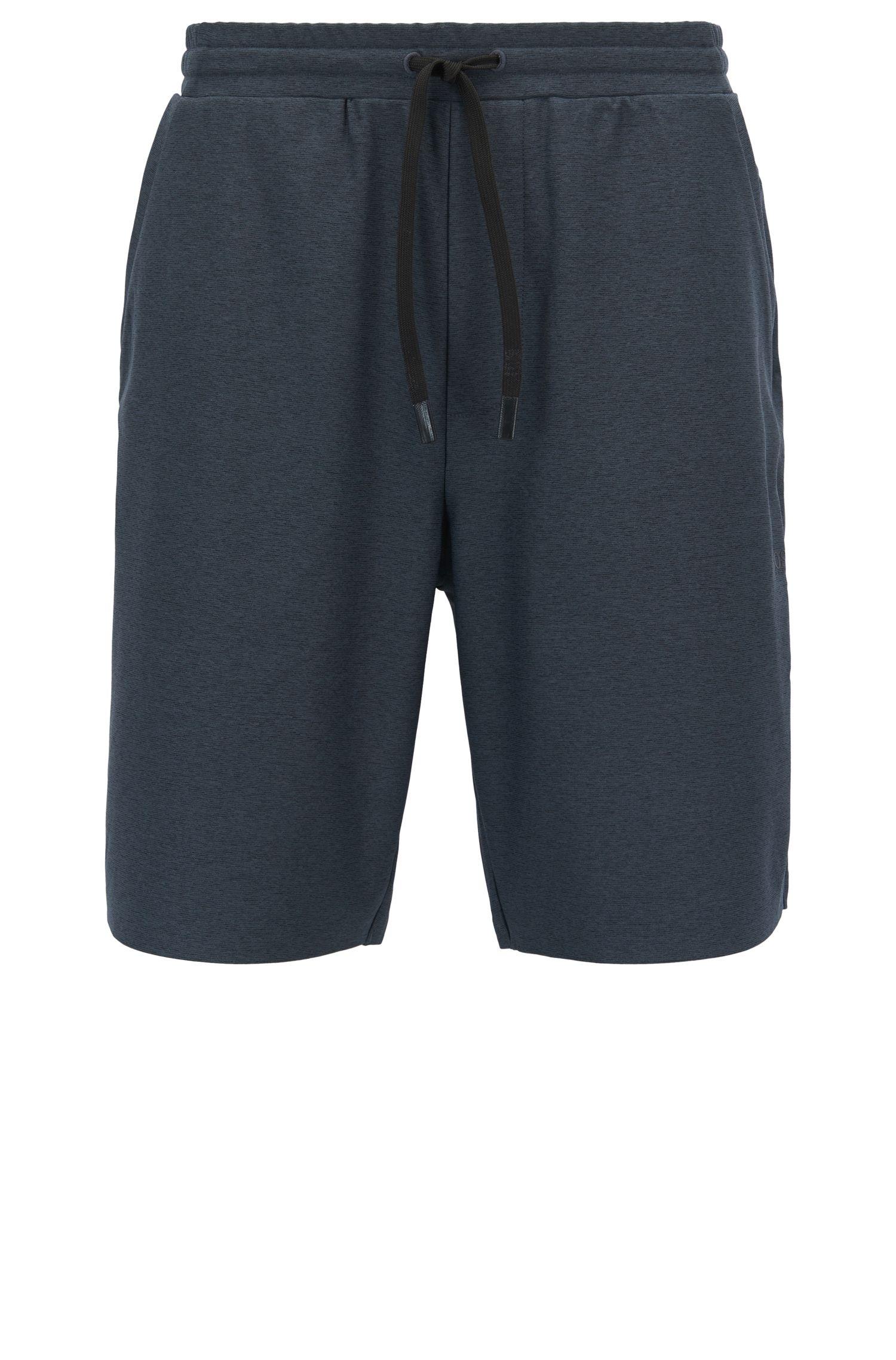 Shorts en tejido jaspeado con S.Café®