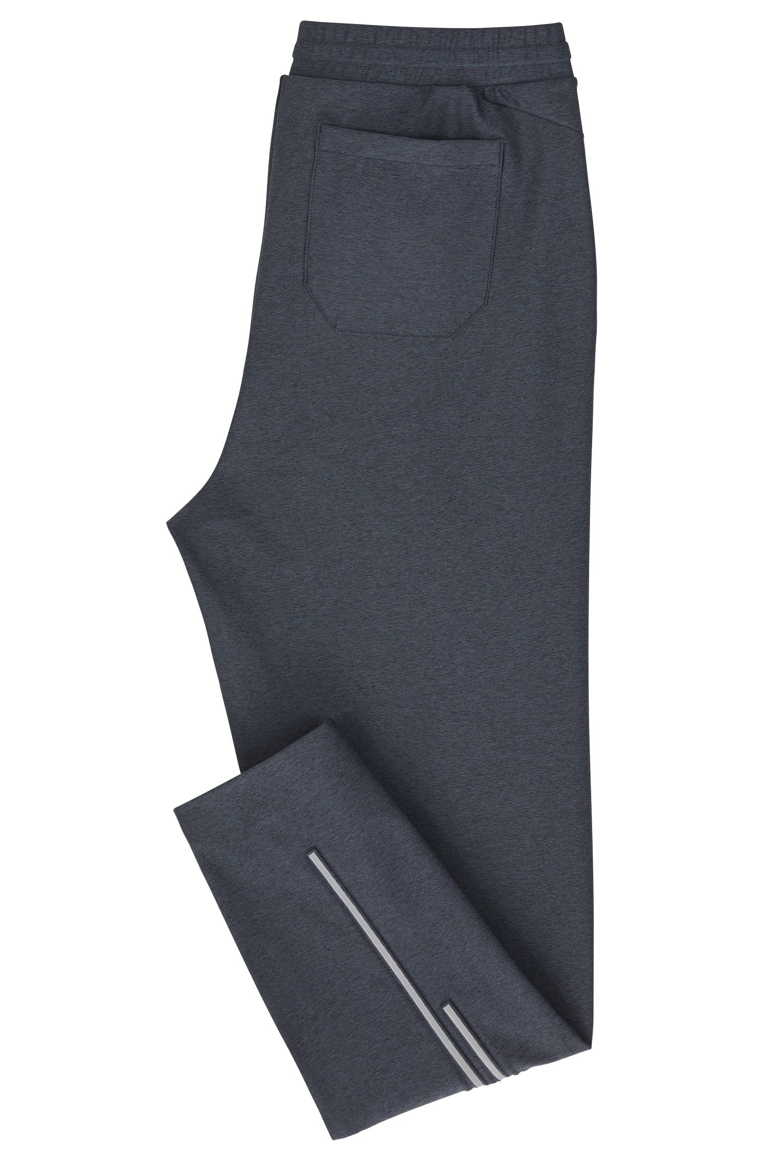 Slim-Fit Jogginghose aus elastischem Material-Mix