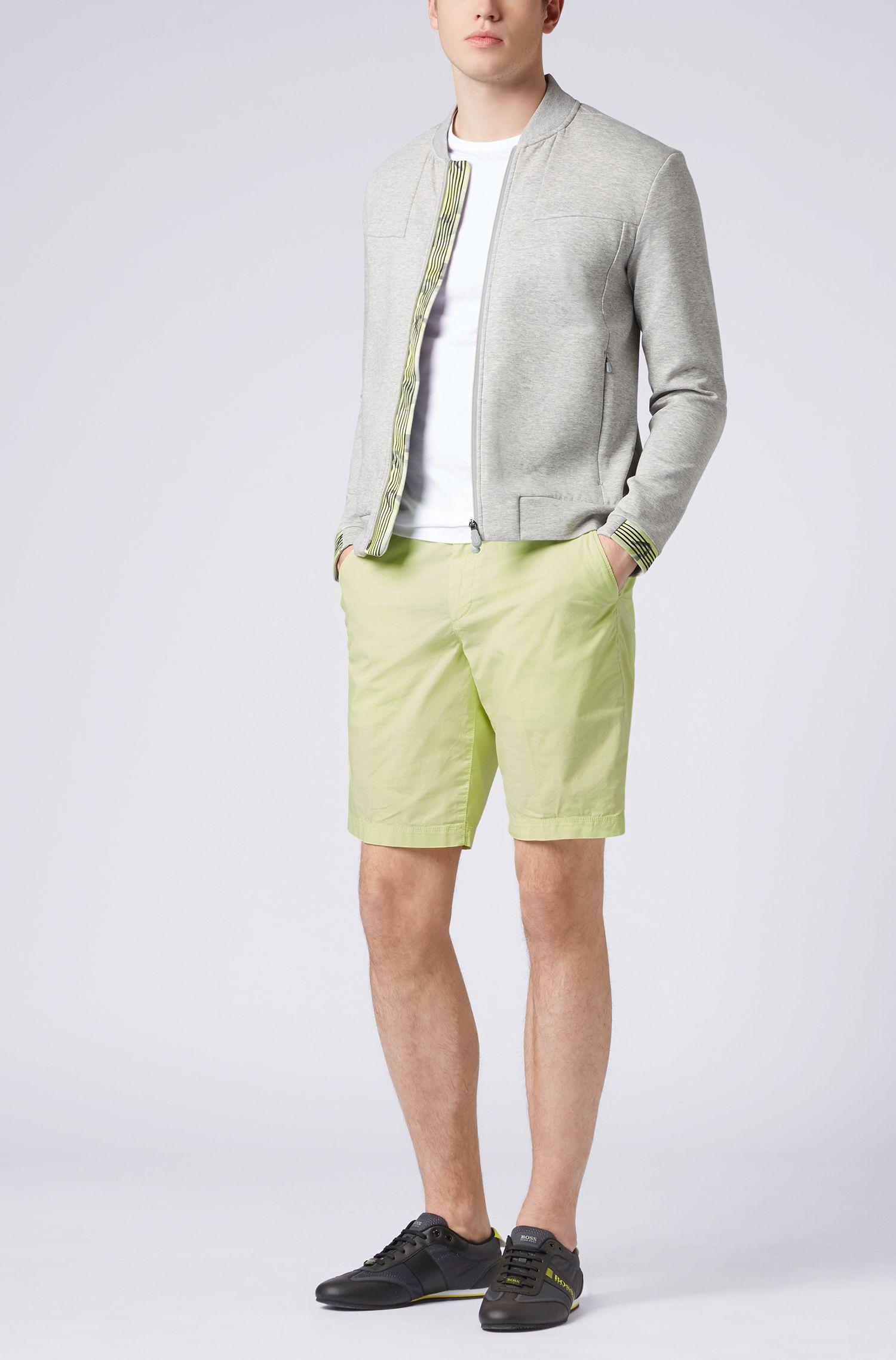 Regular-fit shorts in lightweight stretch cotton