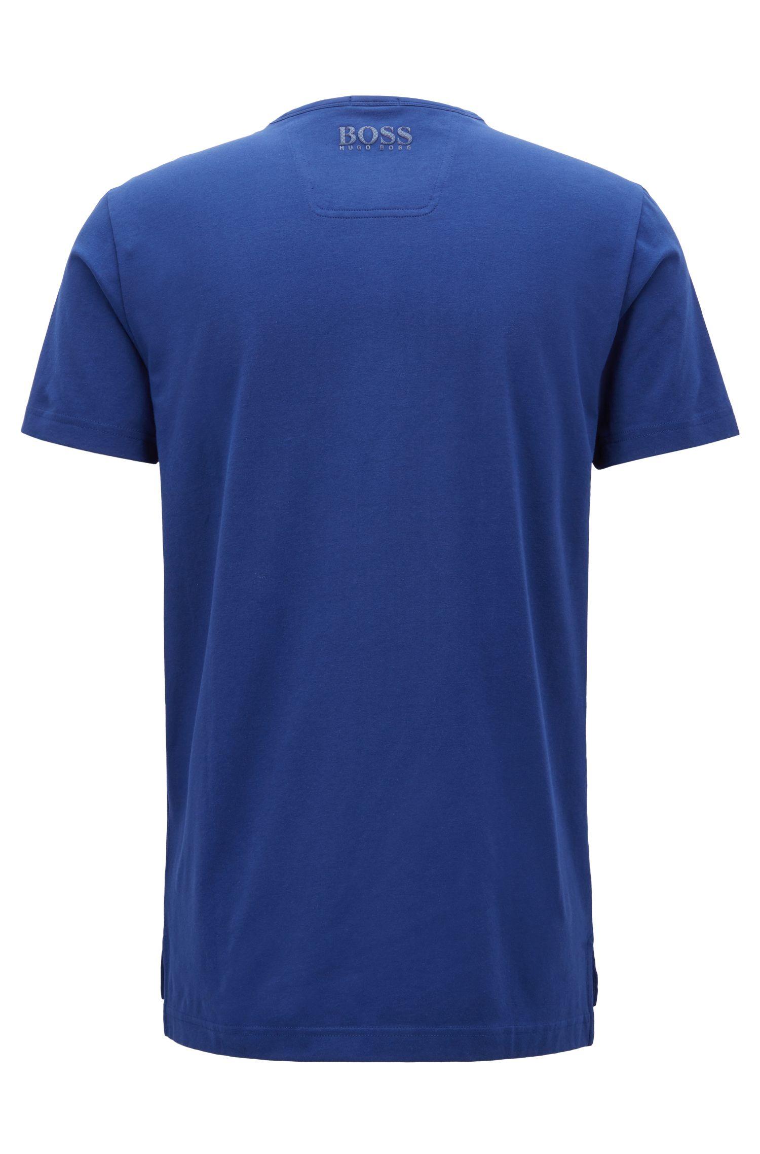 T-shirt en coton stretch avec imprimé équipe nationale