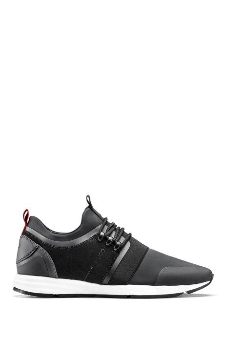 Hybrid trainers with neoprene sock, Black