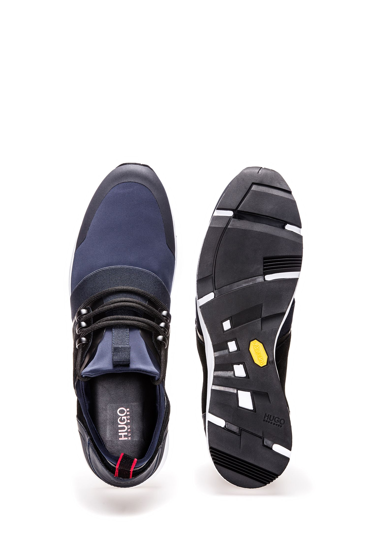 Hybrid trainers with neoprene sock HUGO BOSS