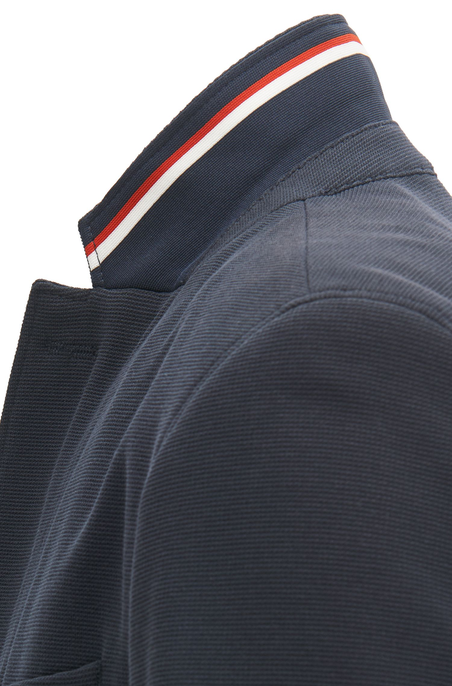 Extra-slim-fit jacket in structured jersey