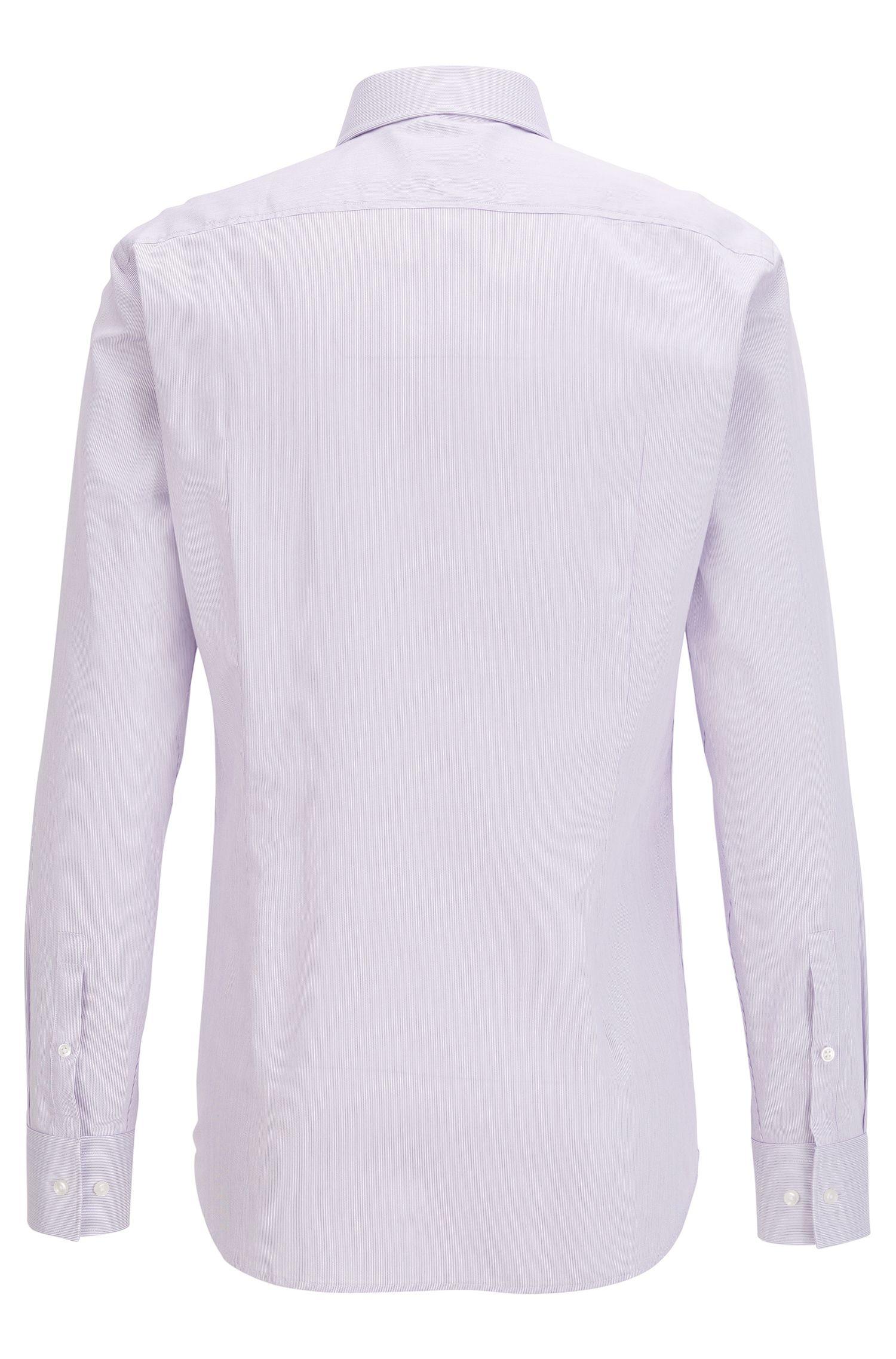 Fein gestreiftes Slim-Fit Hemd aus Baumwolle