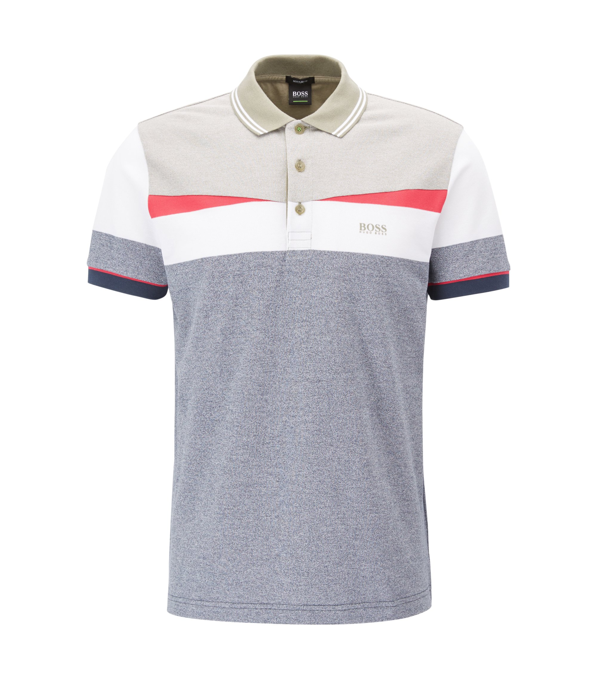 Polo color block en pur coton139.00BOSS