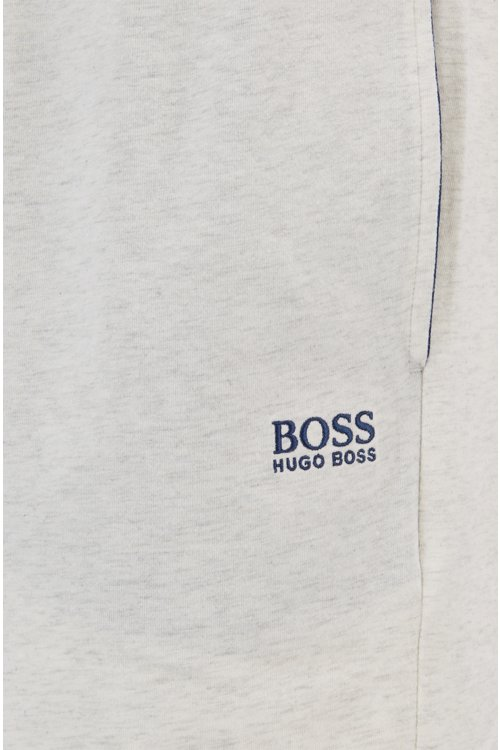 Hugo Boss - Loungewear shorts in stretch cotton jersey with drawstring waist - 2