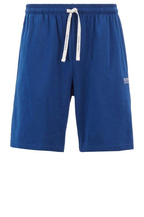Hugo Boss - Loungewear-Shorts aus elastischer Stretch-Baumwolle mit Taillen-Tunnelzug - 1