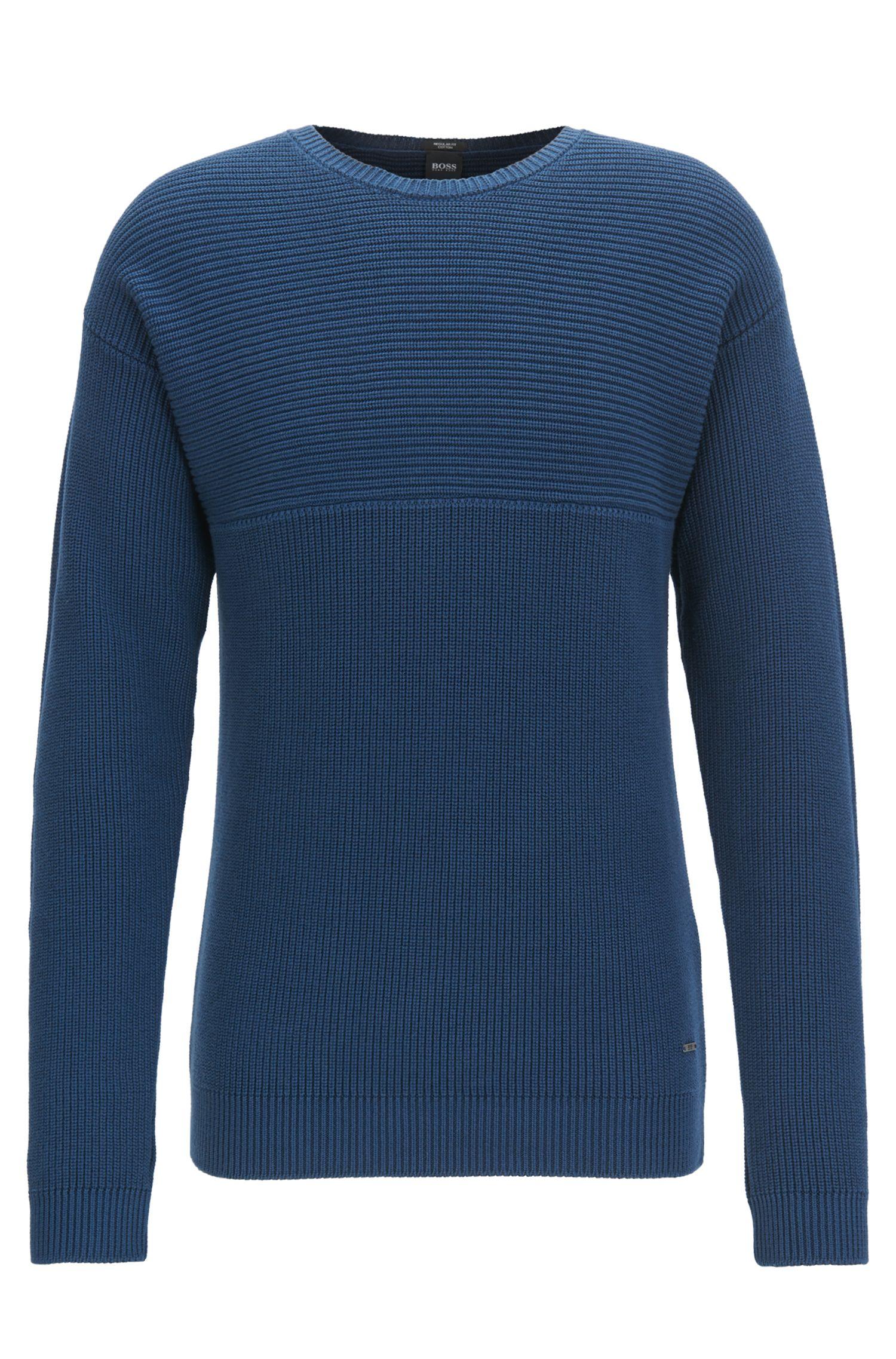 Maglione in cotone Pima in maglia a rovescio