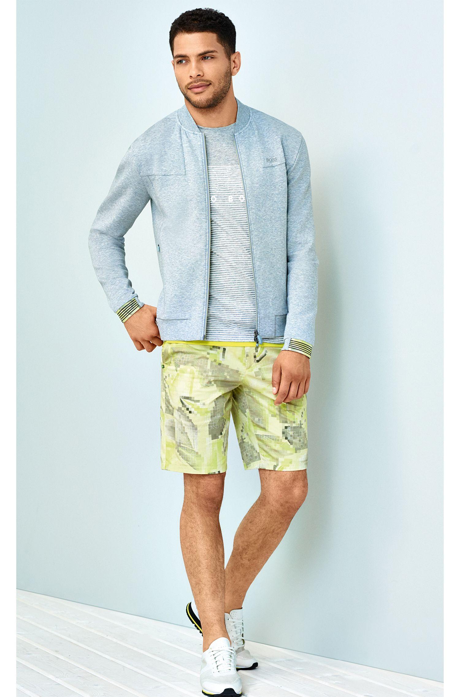 T-shirt à rayures Slim Fit en coton