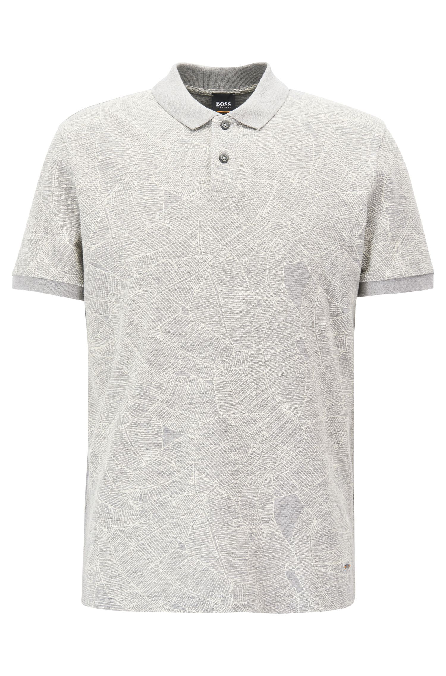 Polo Relaxed Fit en coton imprimé