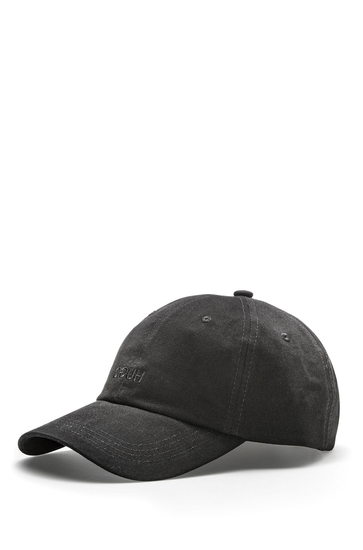 Gorra de béisbol en algodón con logo invertido