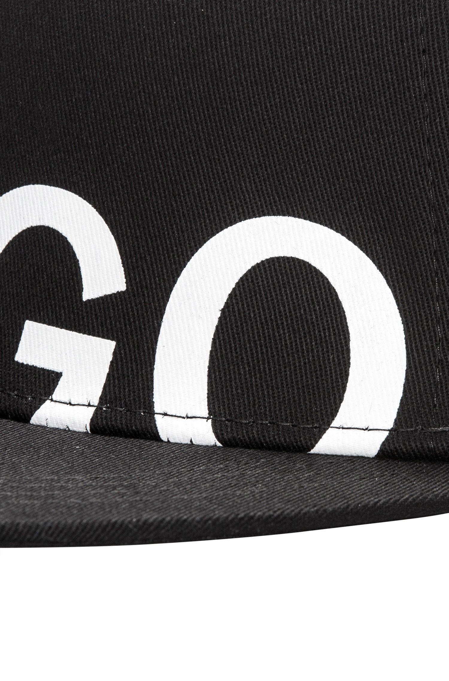 Baseballpet van katoenen gabardine met logo
