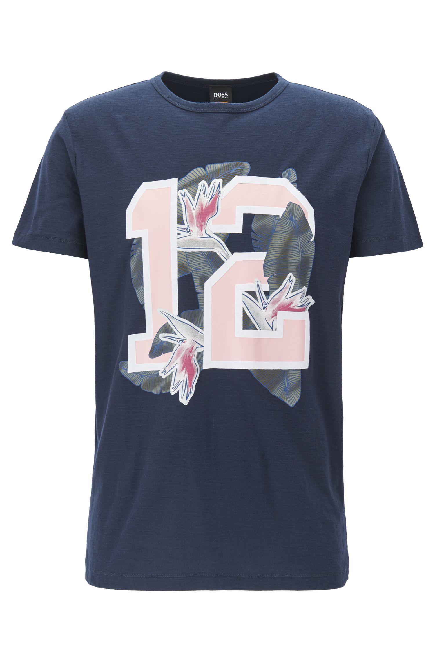Relaxed-Fit T-Shirt aus Baumwoll-Jersey mit Grafik-Print