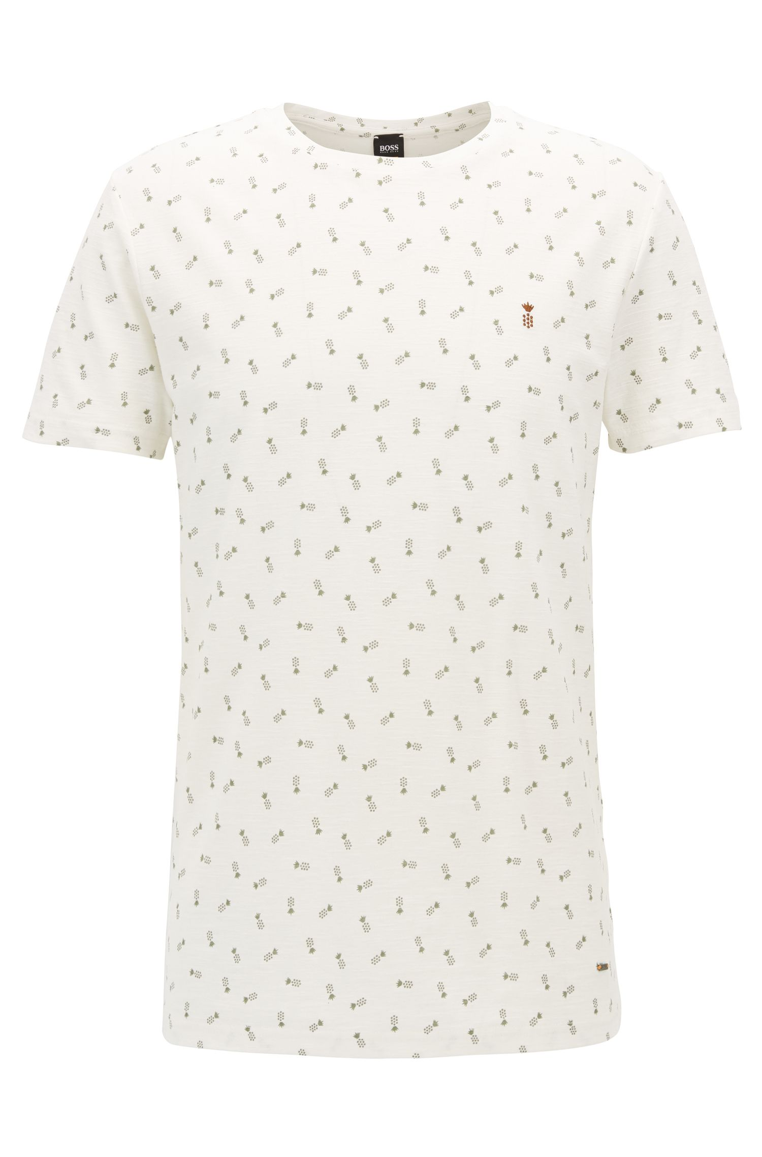 T-shirt RegularFit en coton à micro-motif