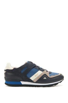 Lacets Apl Texture Chaussures De Sport - Bleu 1nOP2