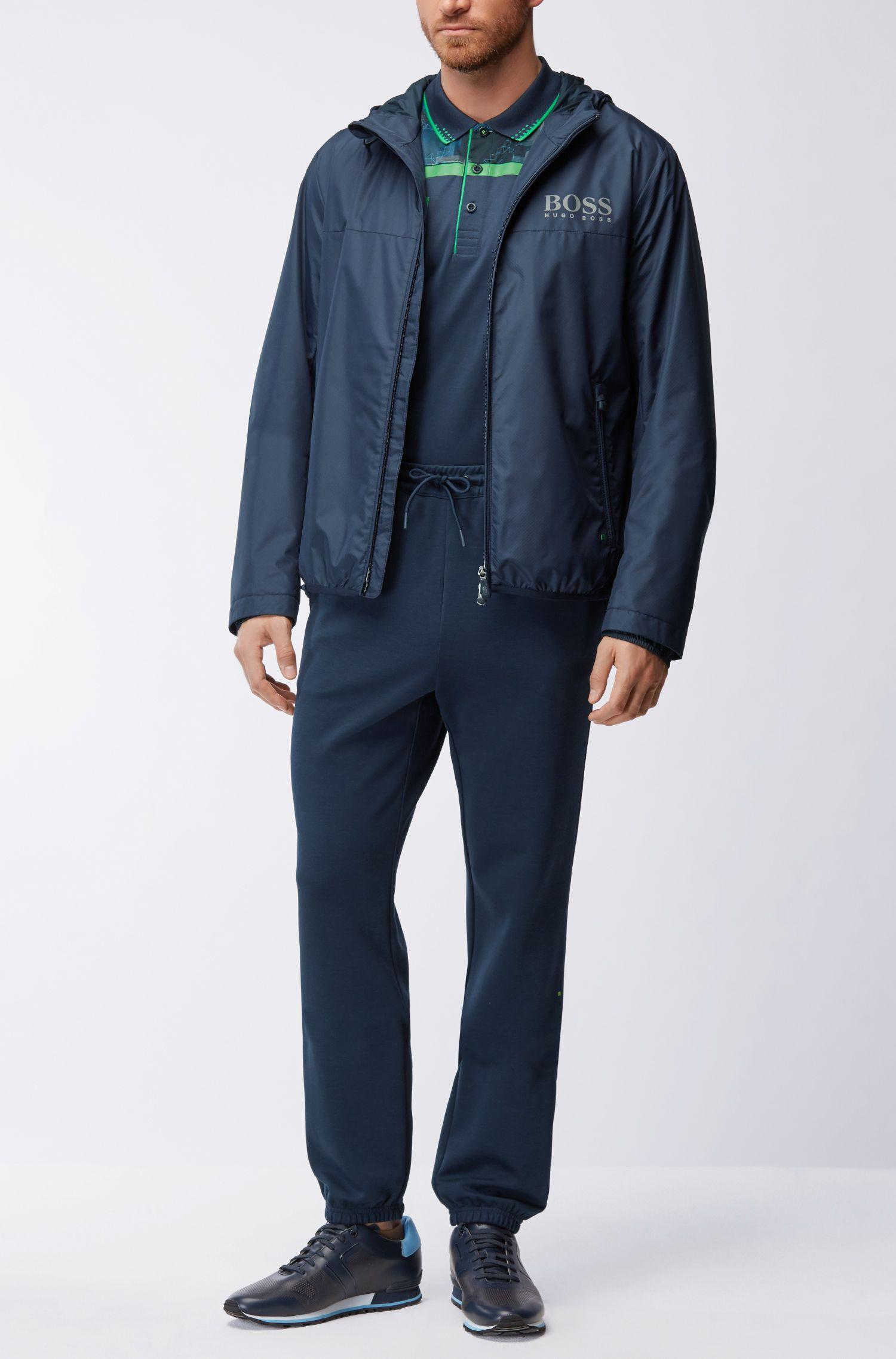 Slim-Fit Poloshirt aus merzerisierter Baumwolle