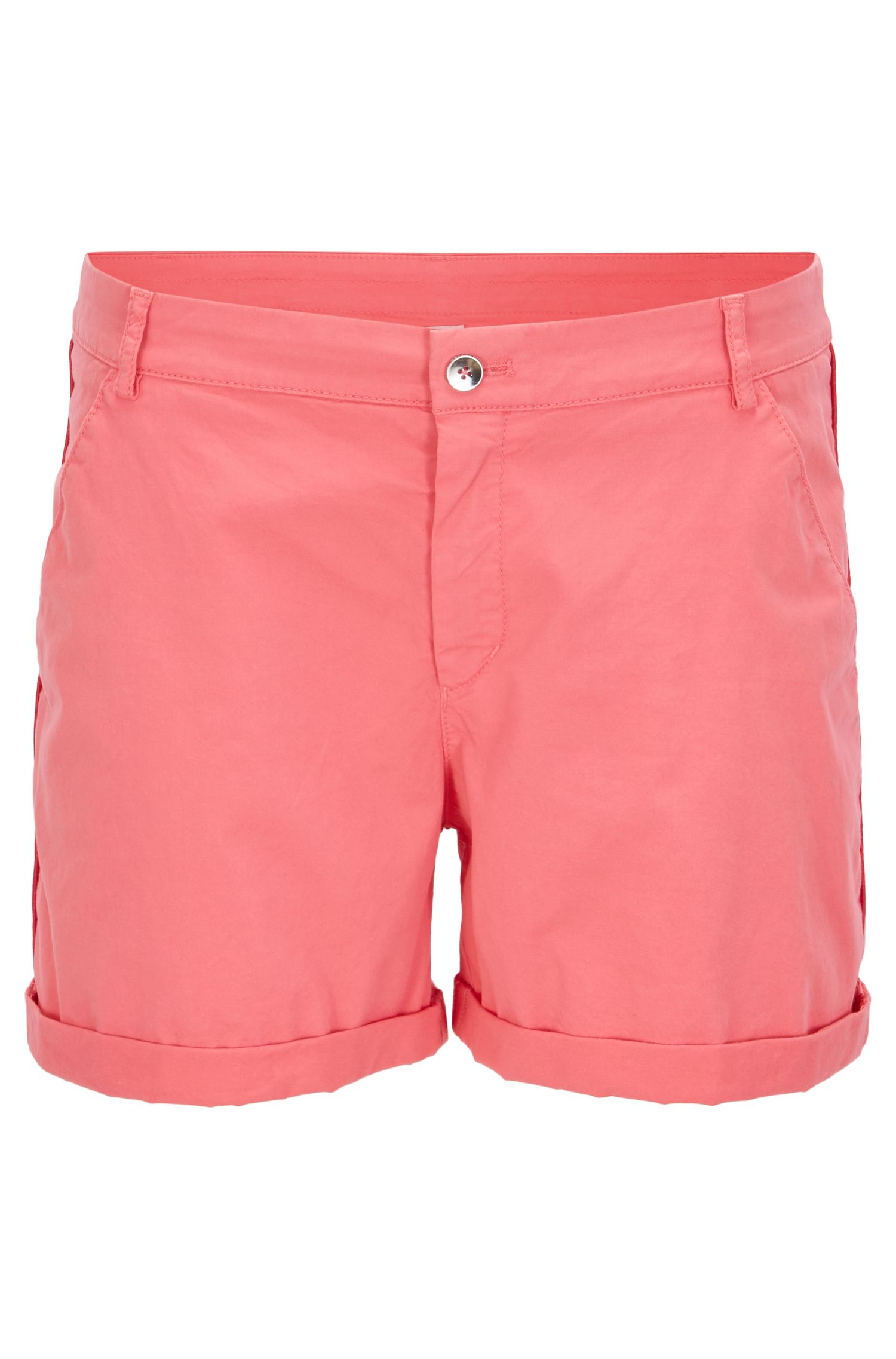 Short chino Relaxed Fit en coton stretch