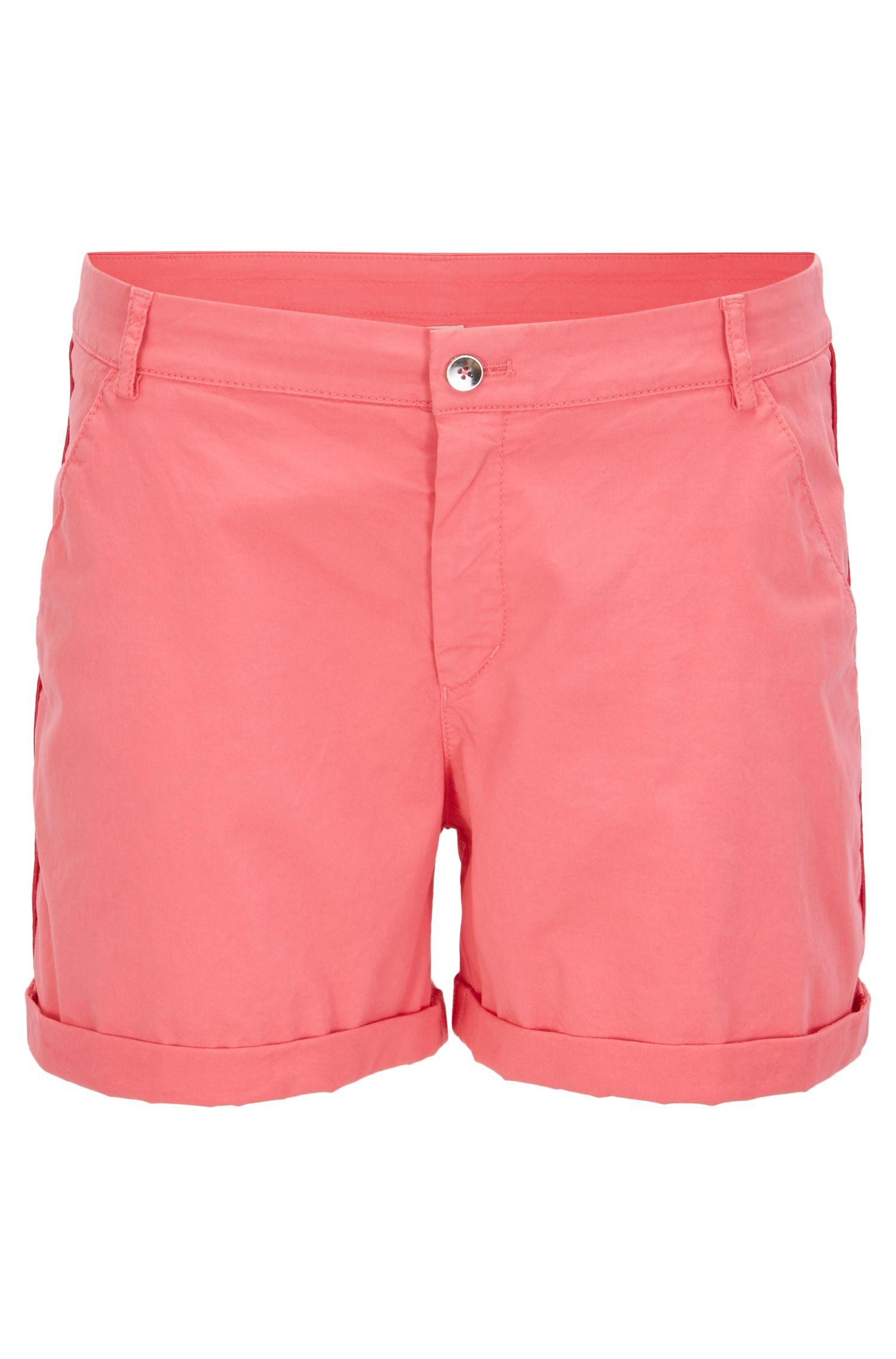Relaxed-Fit Chino-Shorts aus elastischer Baumwolle