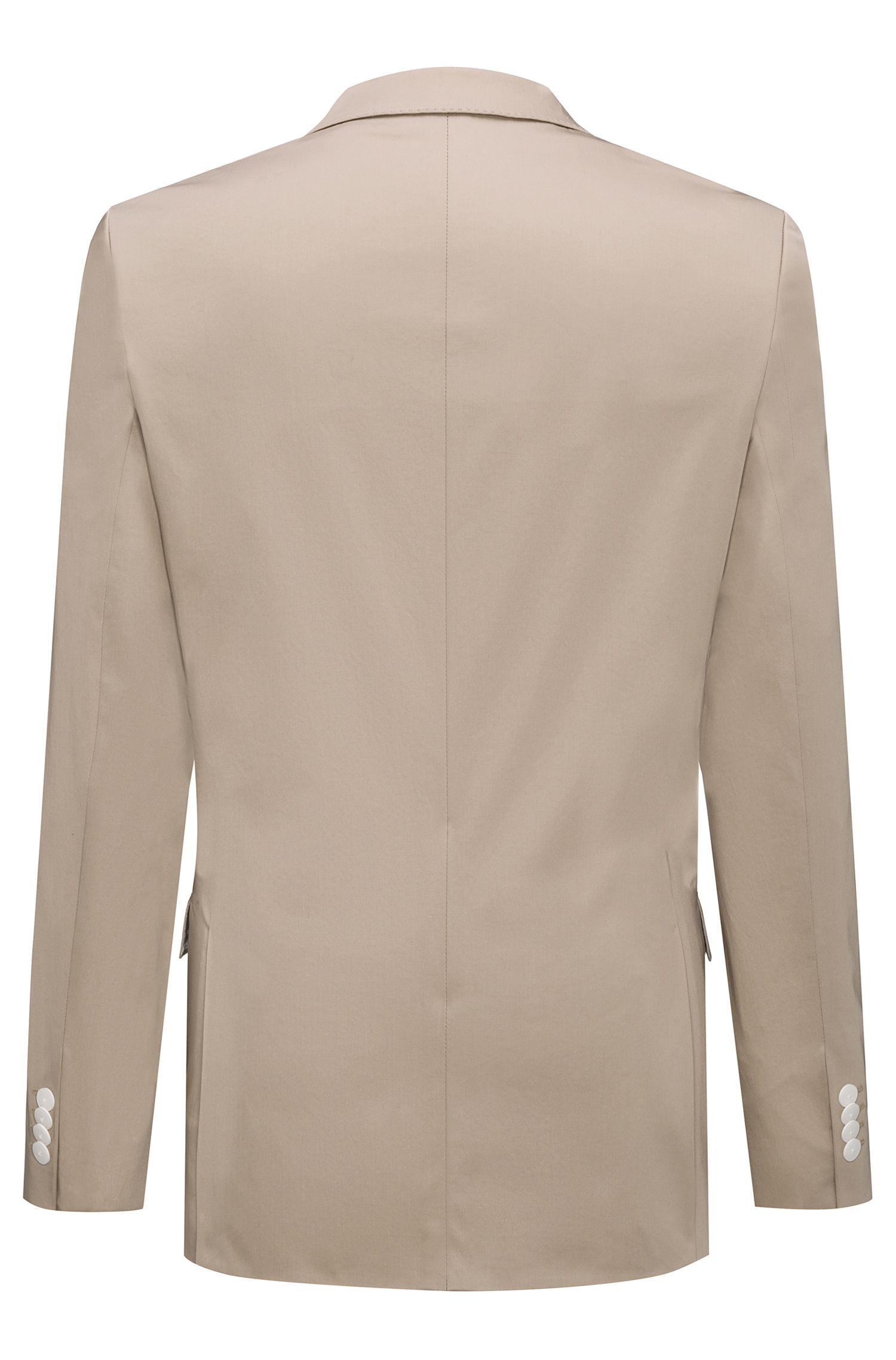 Slim-Fit Anzug aus Stretch-Baumwolle