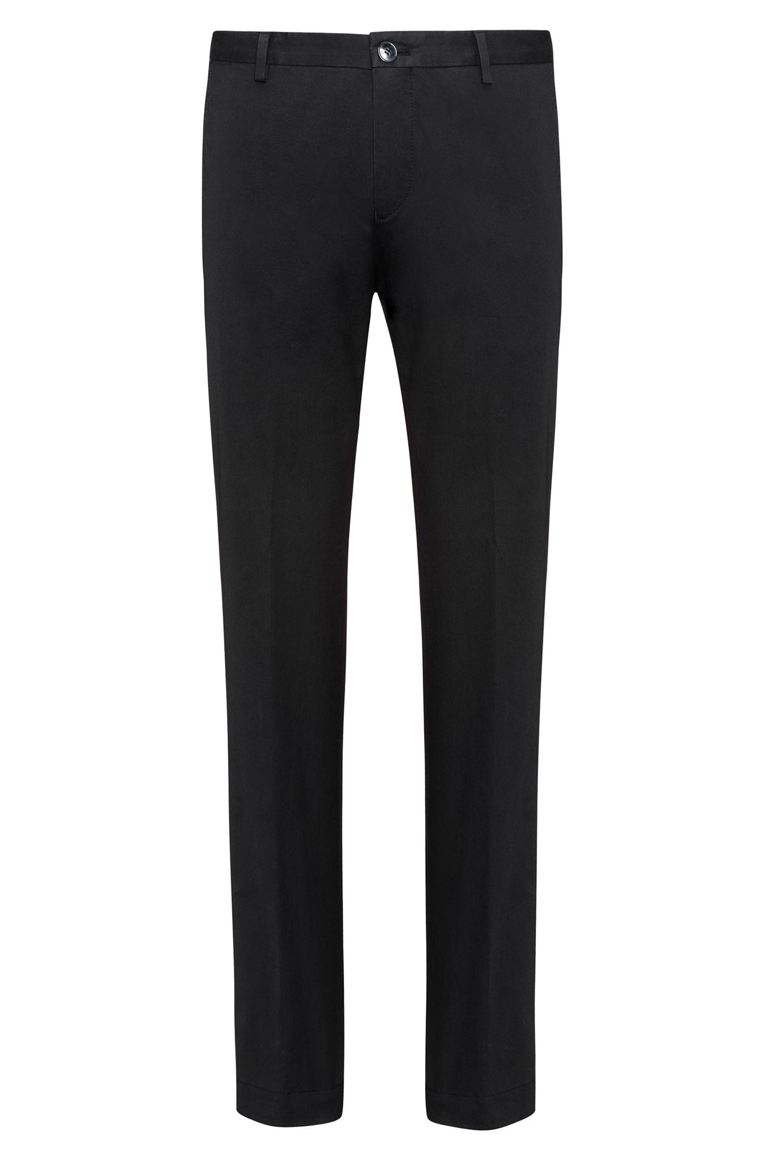 Pantalon SlimFit en coton stretch légèrement délavé
