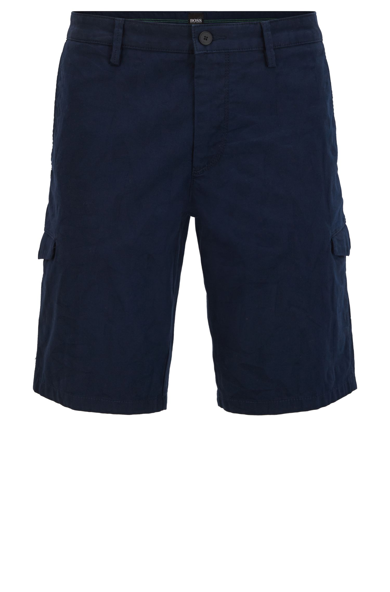 Slim-Fit Shorts aus Stretch-Baumwolle