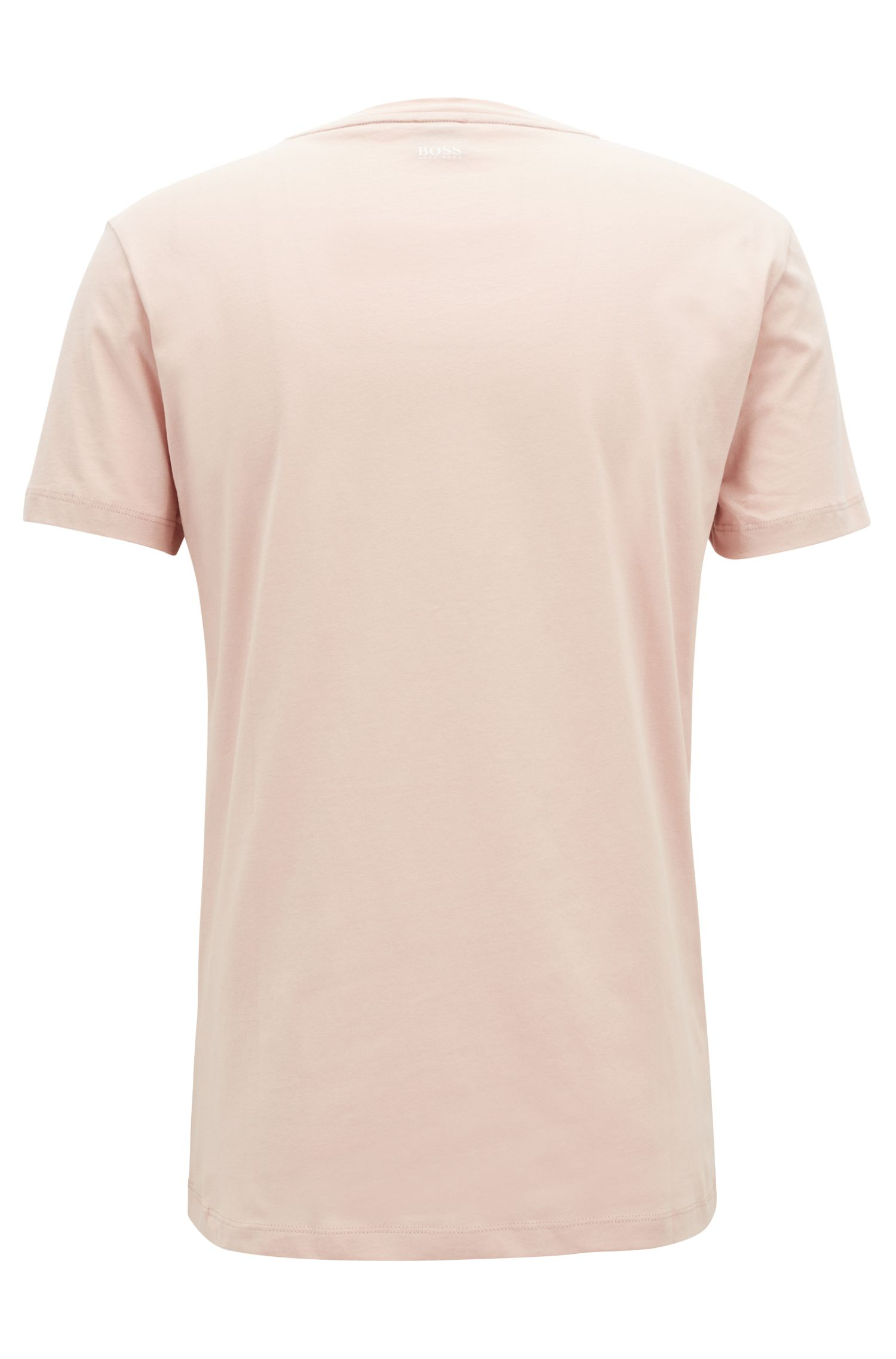 Relaxed-fit T-shirt van katoenen single jersey met afbeelding