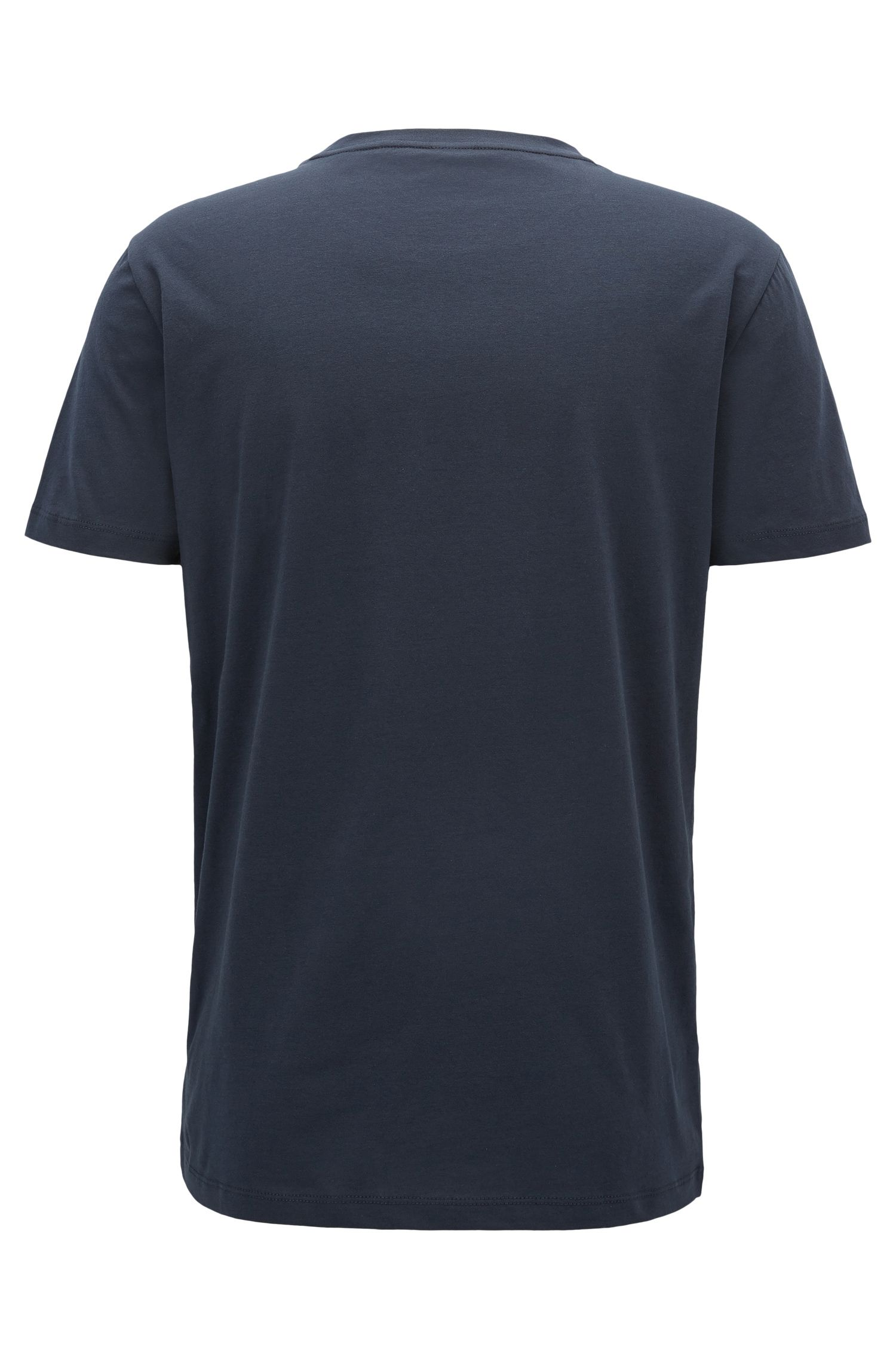 Cotton T-shirt in a relaxed fit with logo