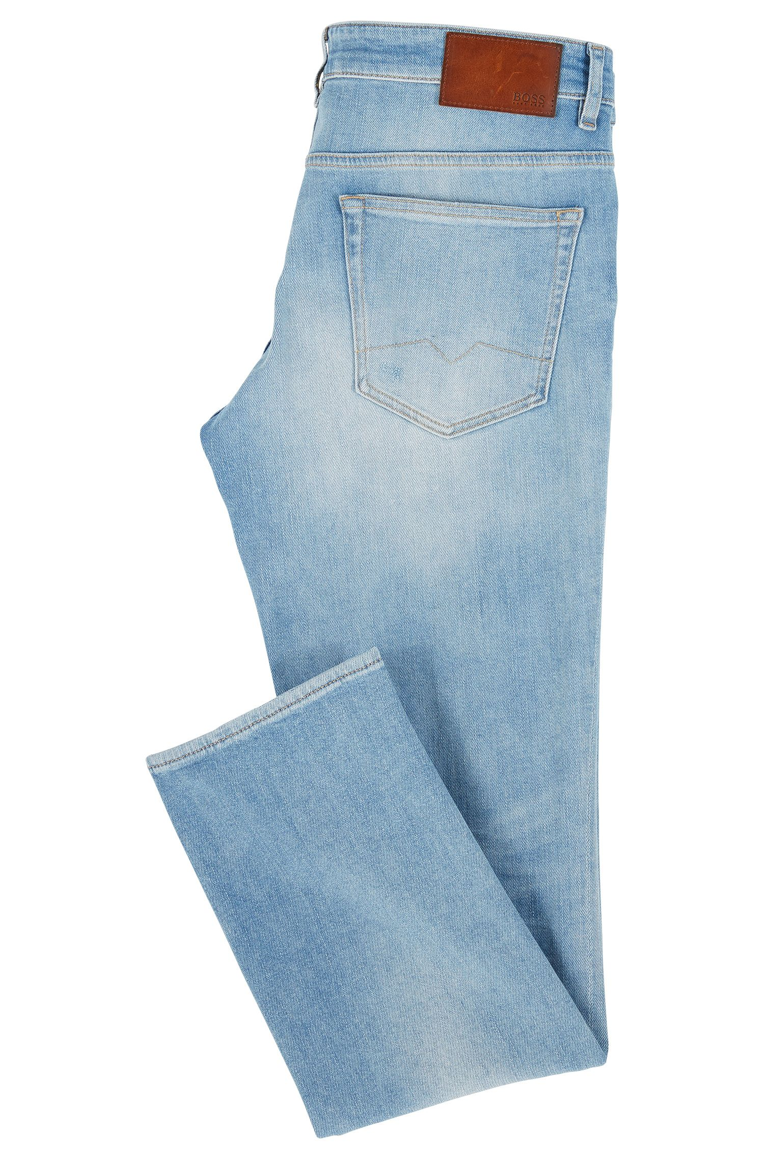 Slim-Fit Jeans aus komfortablem Stretch-Denim im Vintage-Look